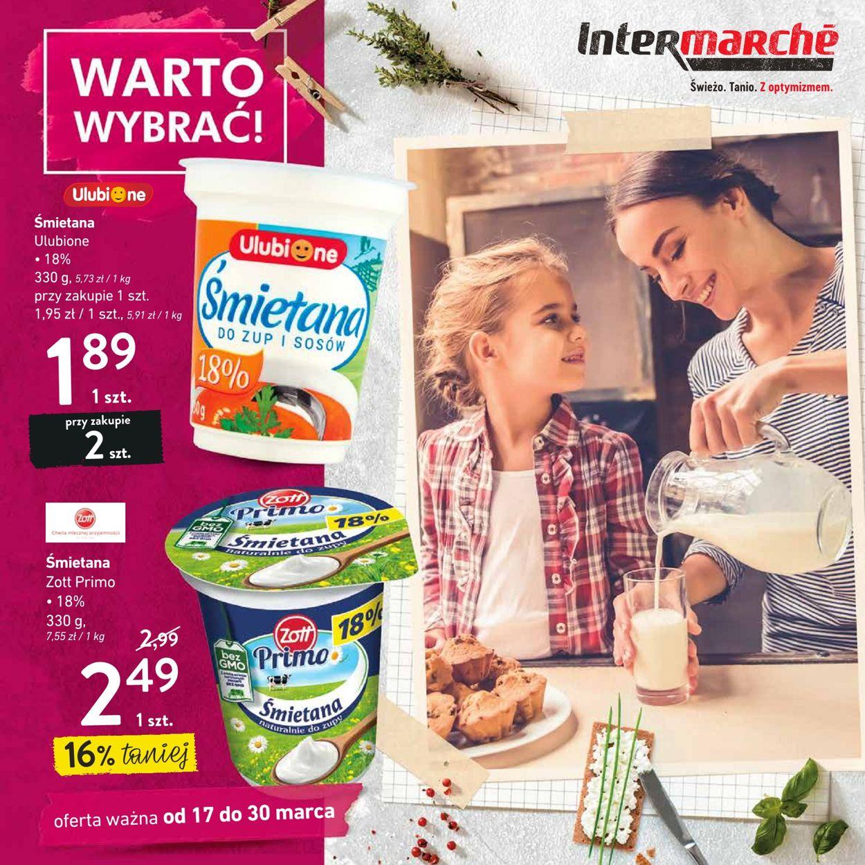 Gazetka promocyjna Intermarché - 17.03-30.03.2020