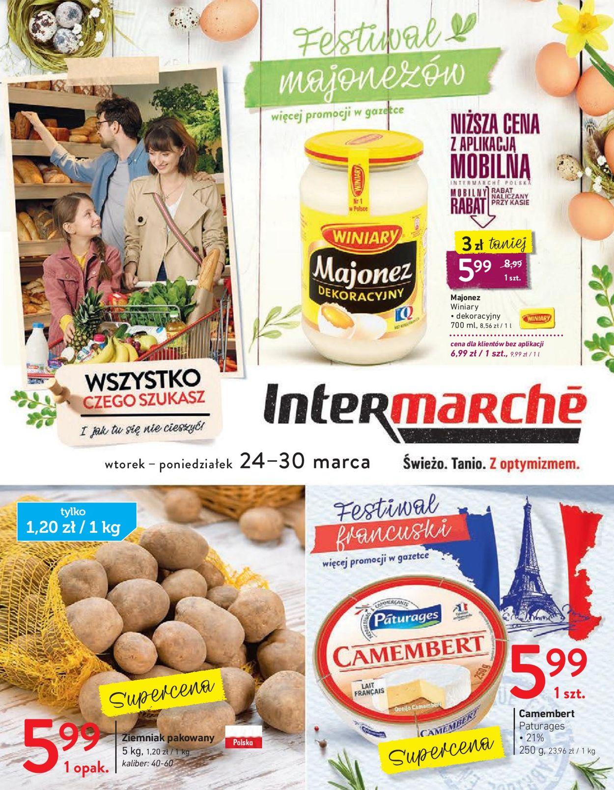 Gazetka promocyjna Intermarché - 24.03-30.03.2020