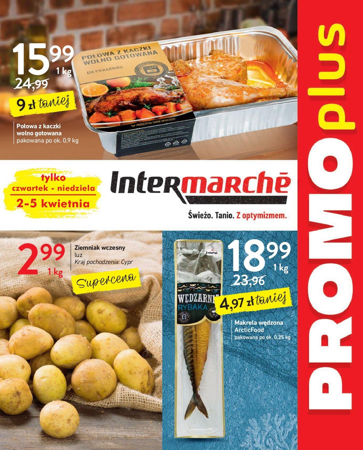 Gazetka promocyjna Intermarché - 02.04-05.04.2020