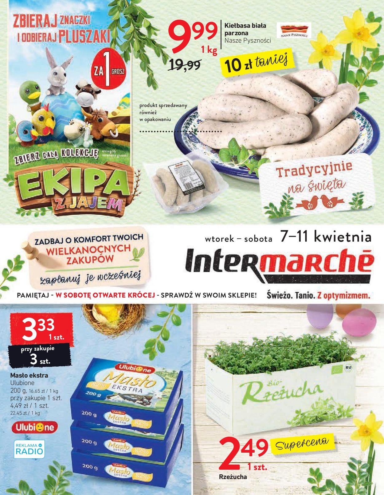 Gazetka promocyjna Intermarché - 07.04-11.04.2020