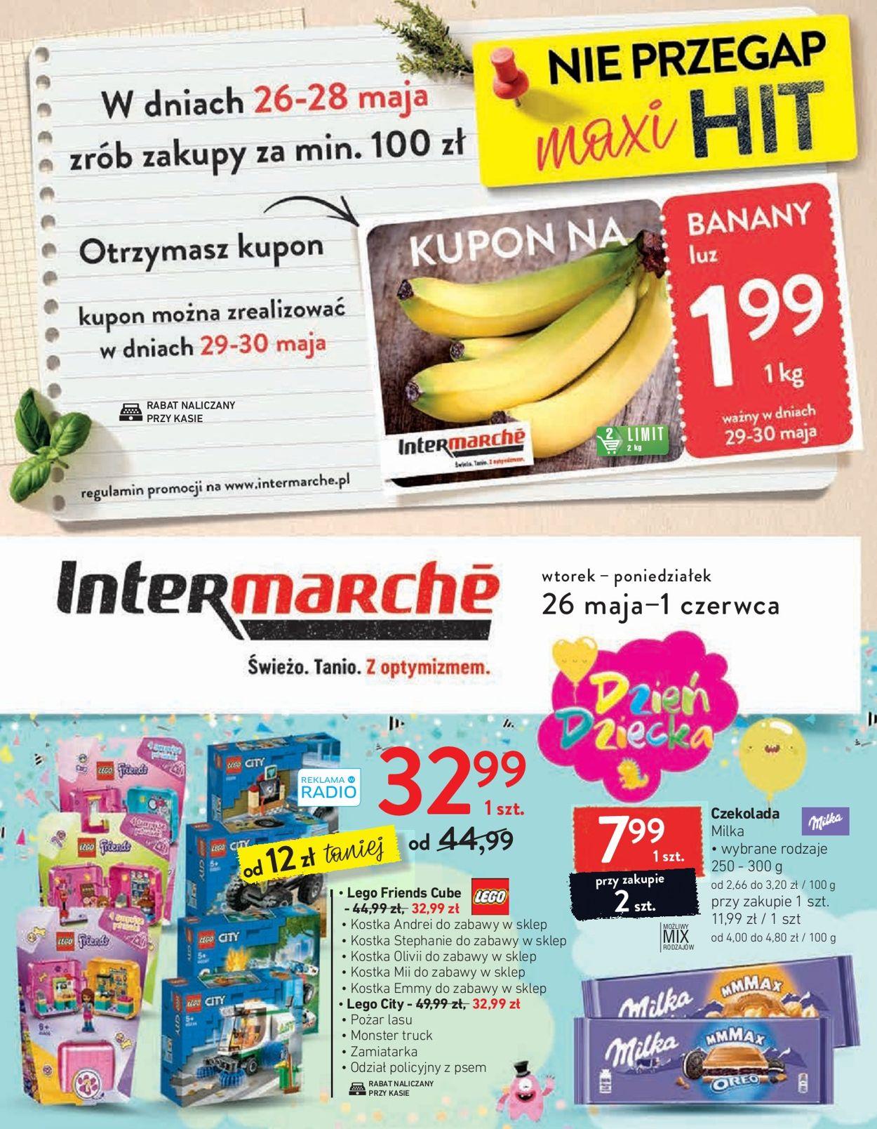Gazetka promocyjna Intermarché - 26.05-01.06.2020