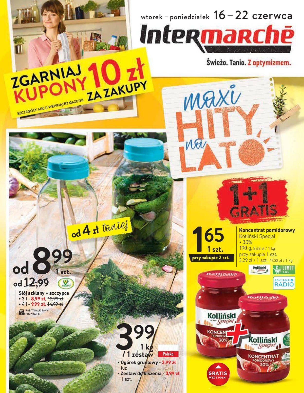 Gazetka promocyjna Intermarché - 16.06-22.06.2020