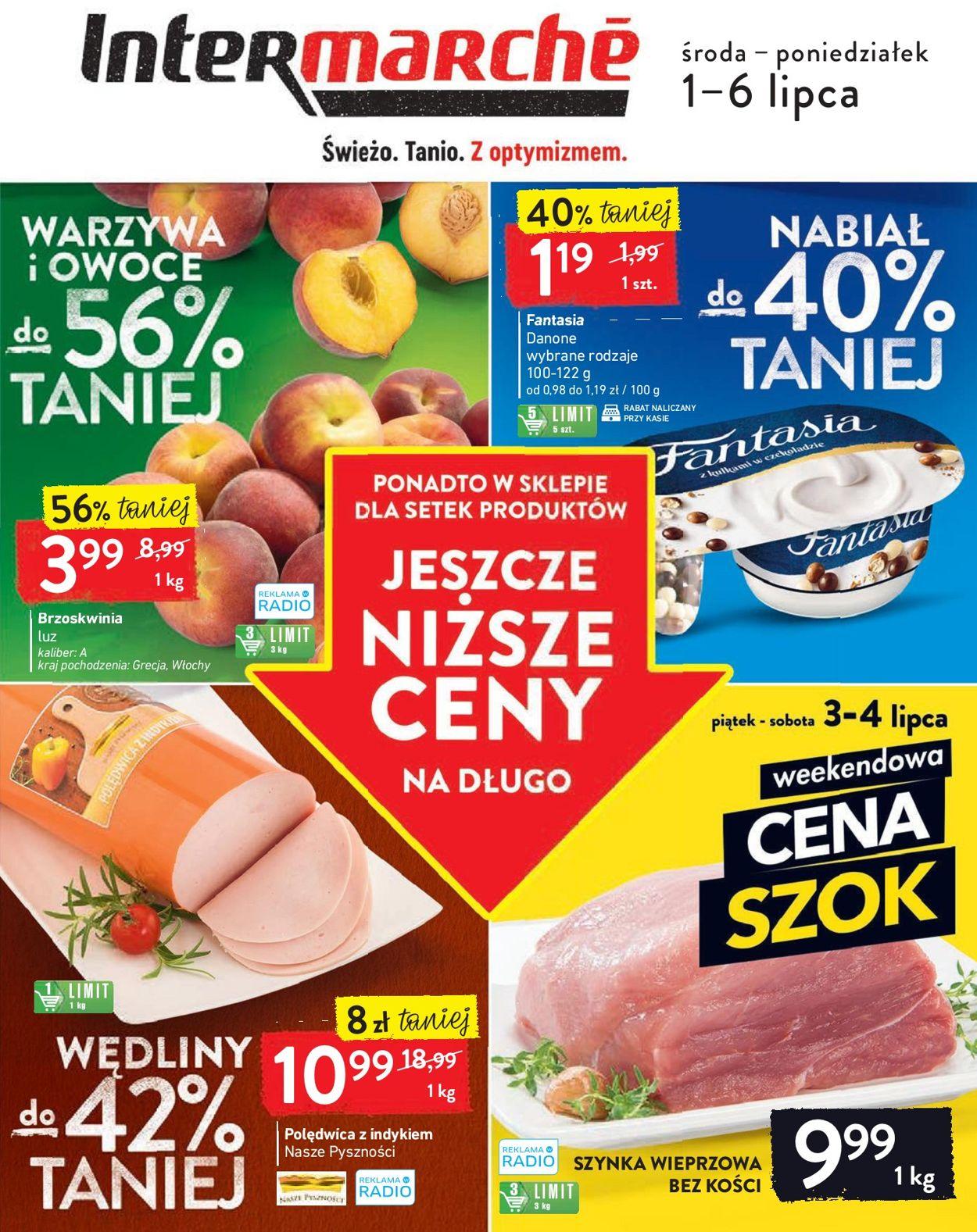 Gazetka promocyjna Intermarché - 01.07-06.07.2020
