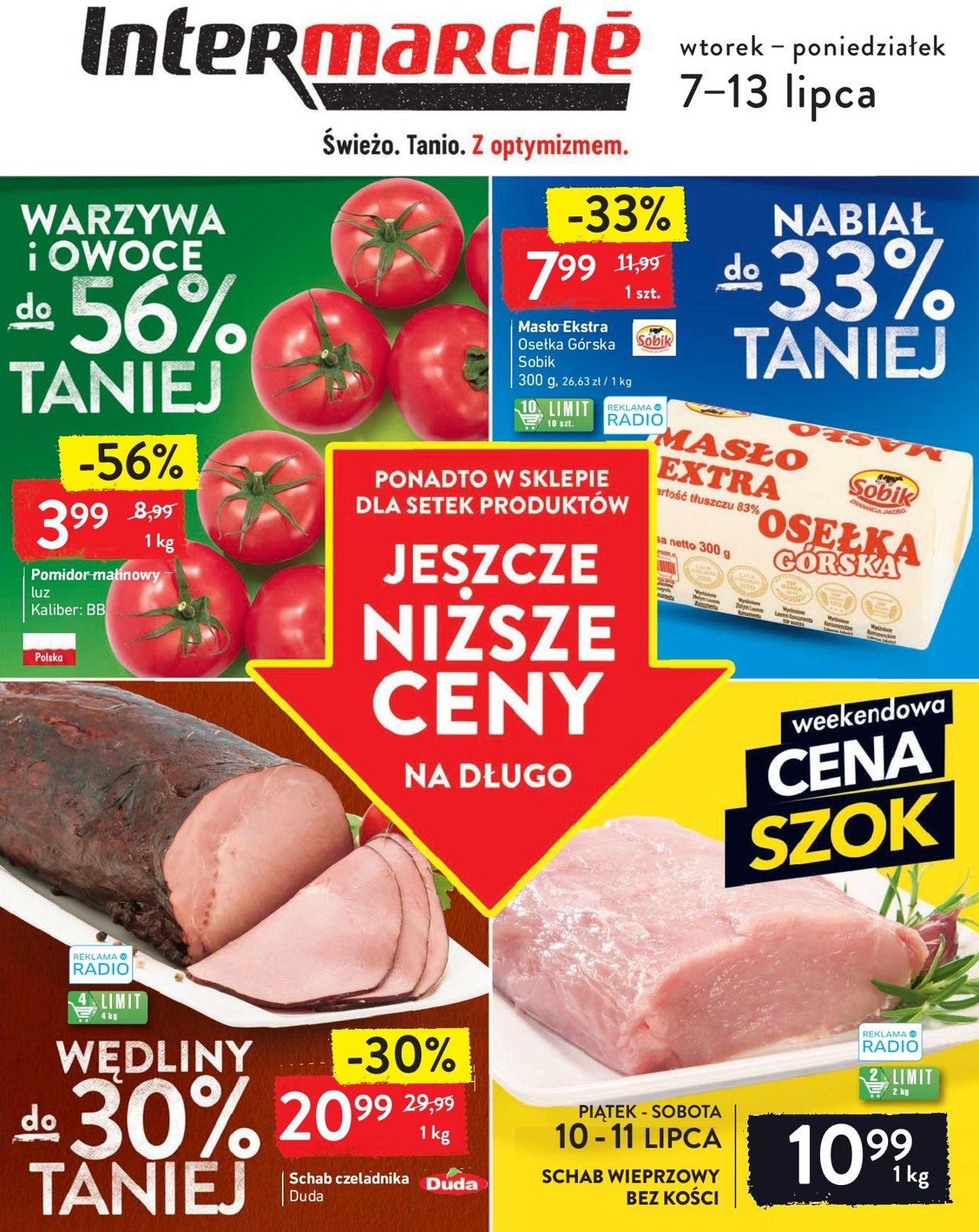 Gazetka promocyjna Intermarché - 07.07-13.07.2020