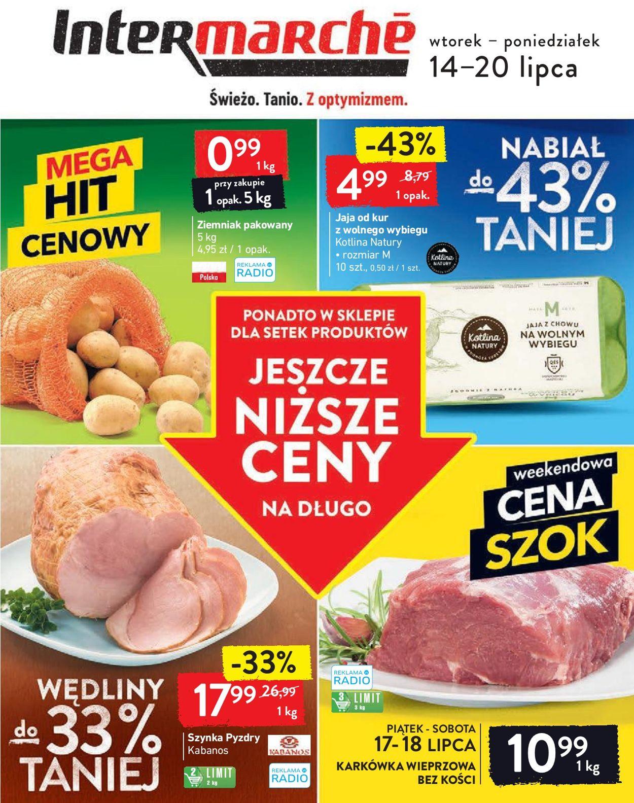 Gazetka promocyjna Intermarché - 14.07-20.07.2020
