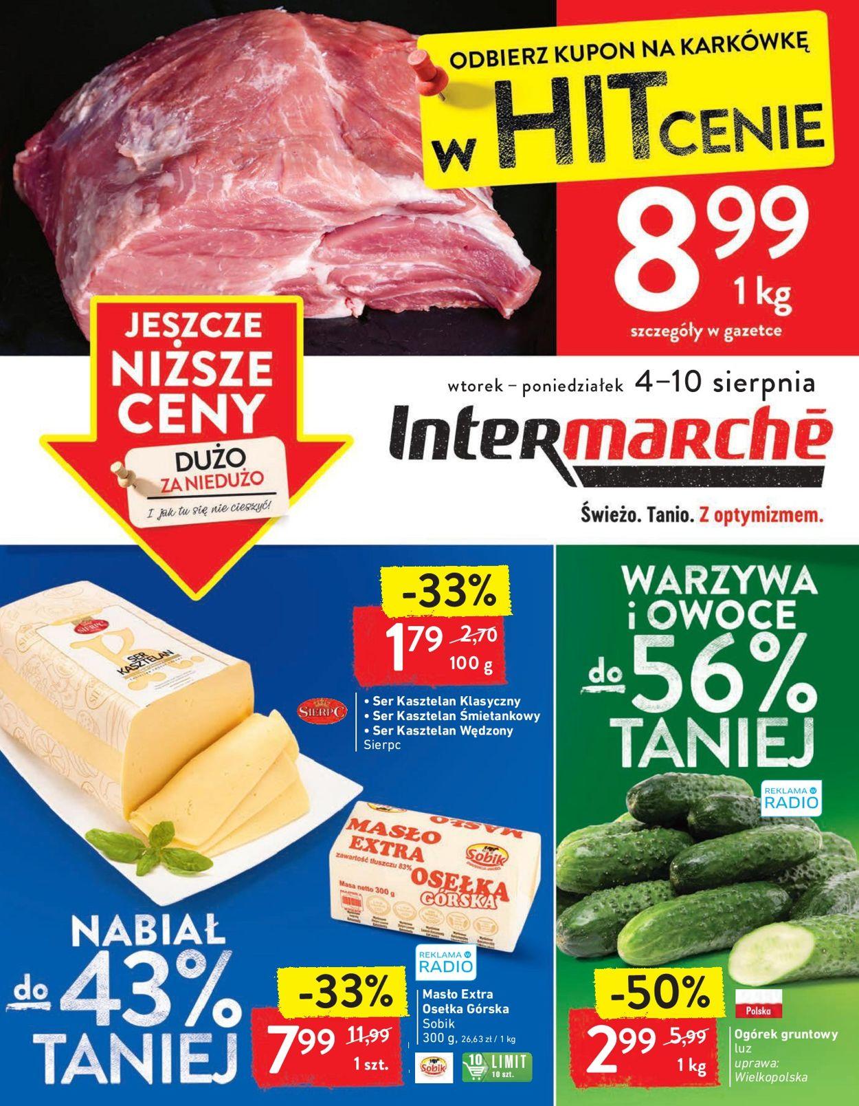 Gazetka promocyjna Intermarché - 04.08-10.08.2020