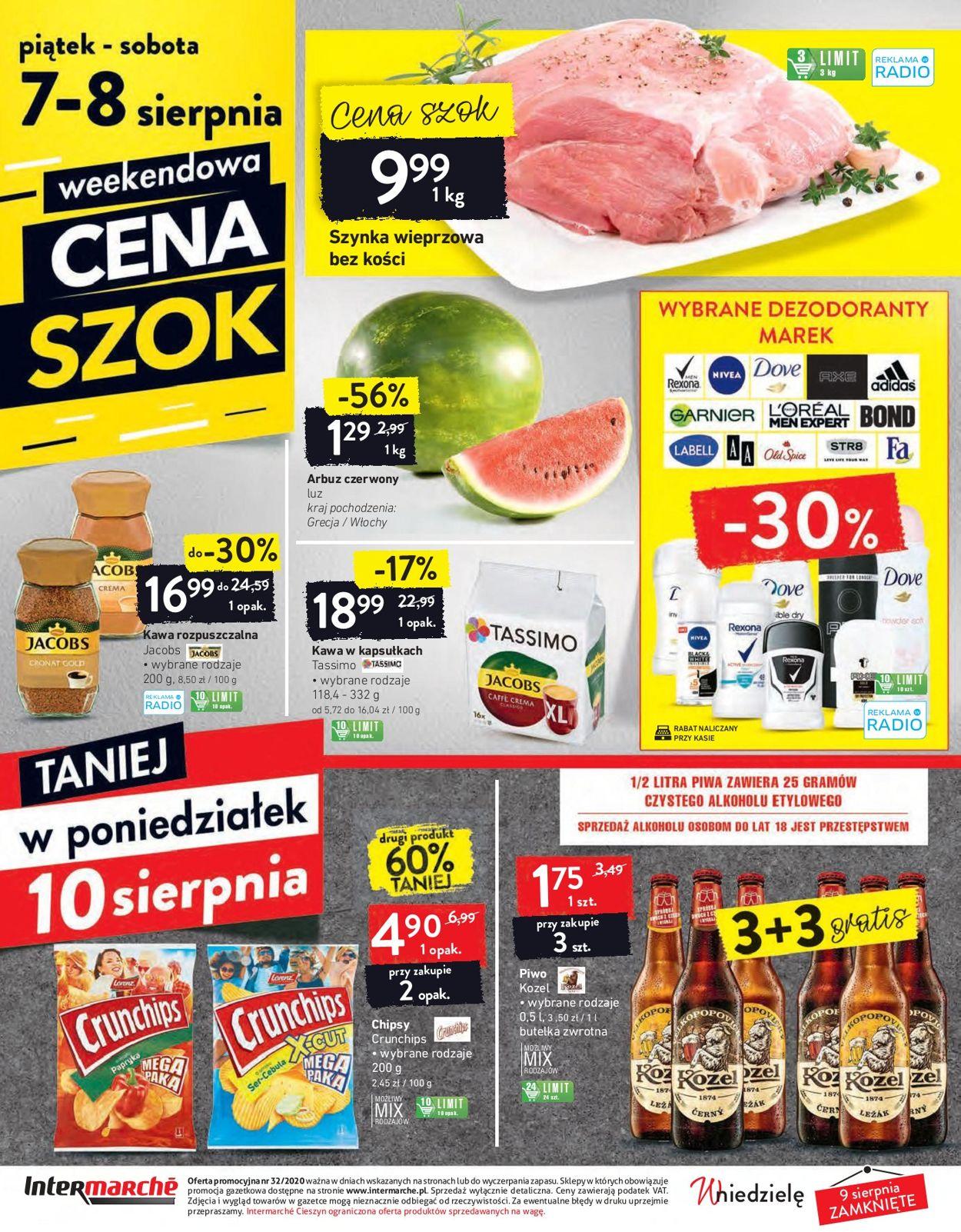 Gazetka promocyjna Intermarché - 04.08-10.08.2020 (Strona 32)