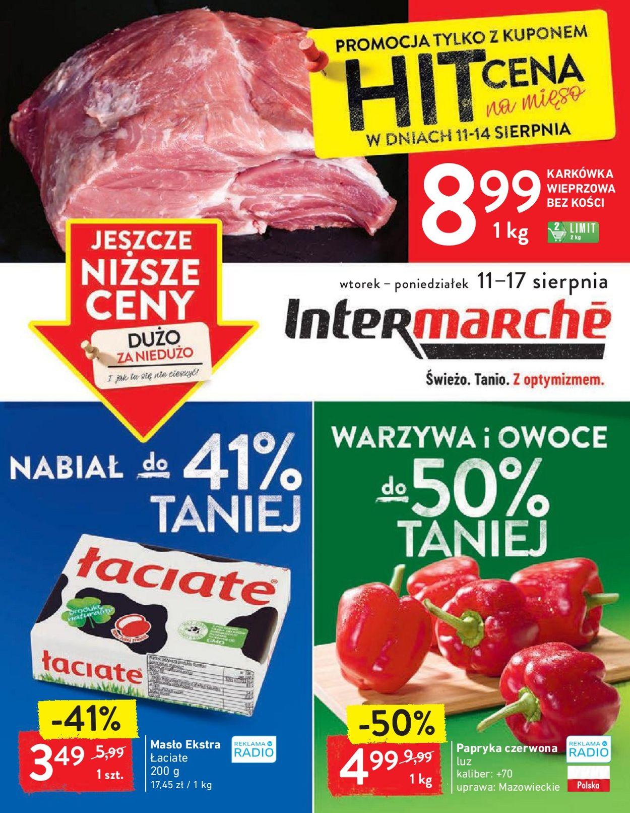 Gazetka promocyjna Intermarché - 11.08-17.08.2020
