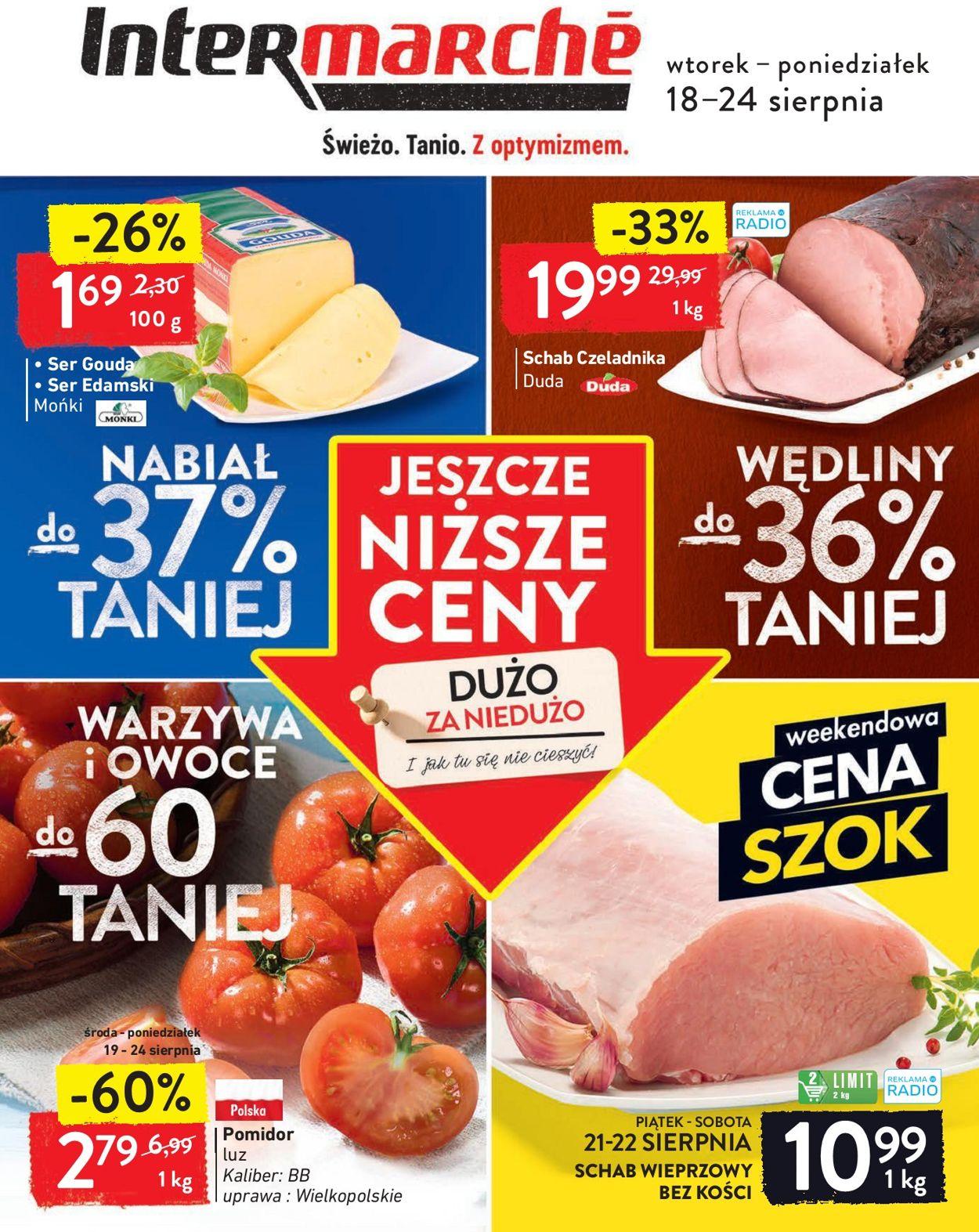 Gazetka promocyjna Intermarché - 18.08-24.08.2020