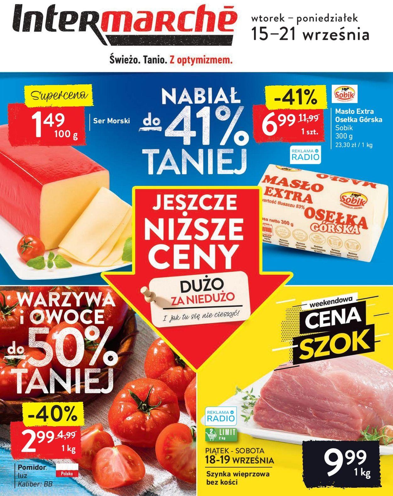 Gazetka promocyjna Intermarché - 15.09-21.09.2020