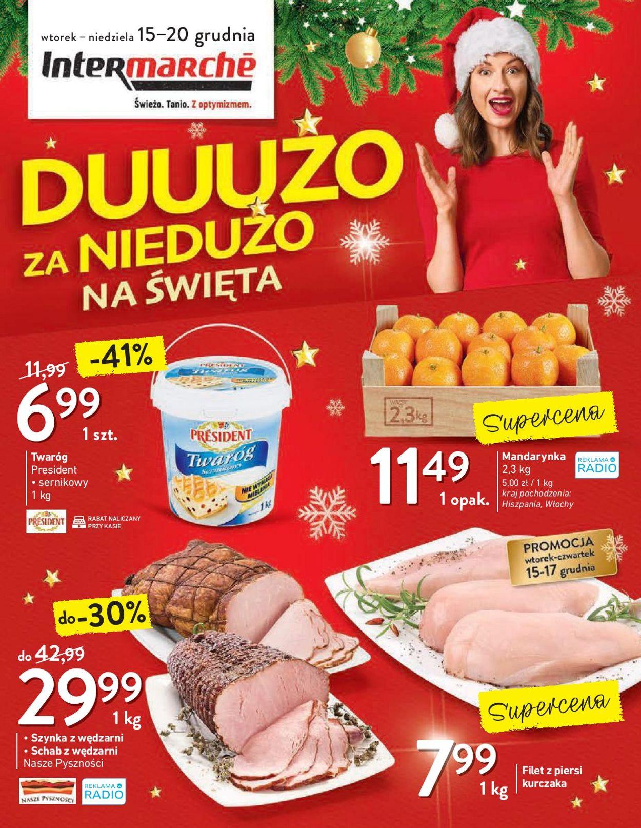 Gazetka promocyjna Intermarché Gazetka Świąteczna 2020 - 15.12-20.12.2020
