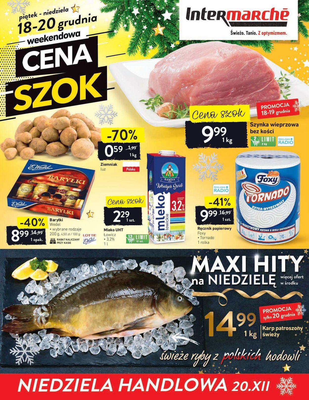 Gazetka promocyjna Intermarché Gazetka Świąteczna 2020 - 15.12-20.12.2020 (Strona 32)
