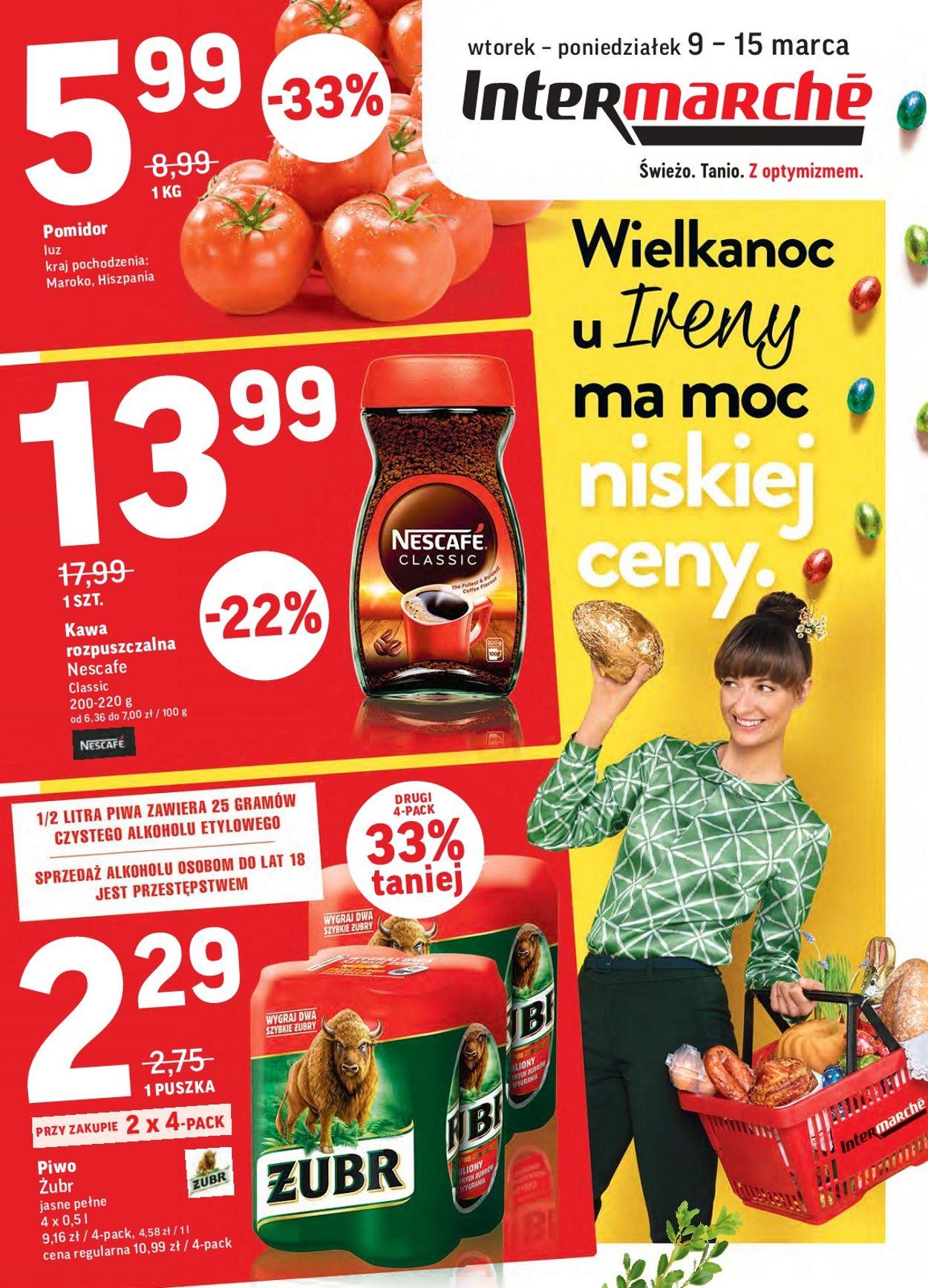 Gazetka promocyjna Intermarché - 09.03-15.03.2021