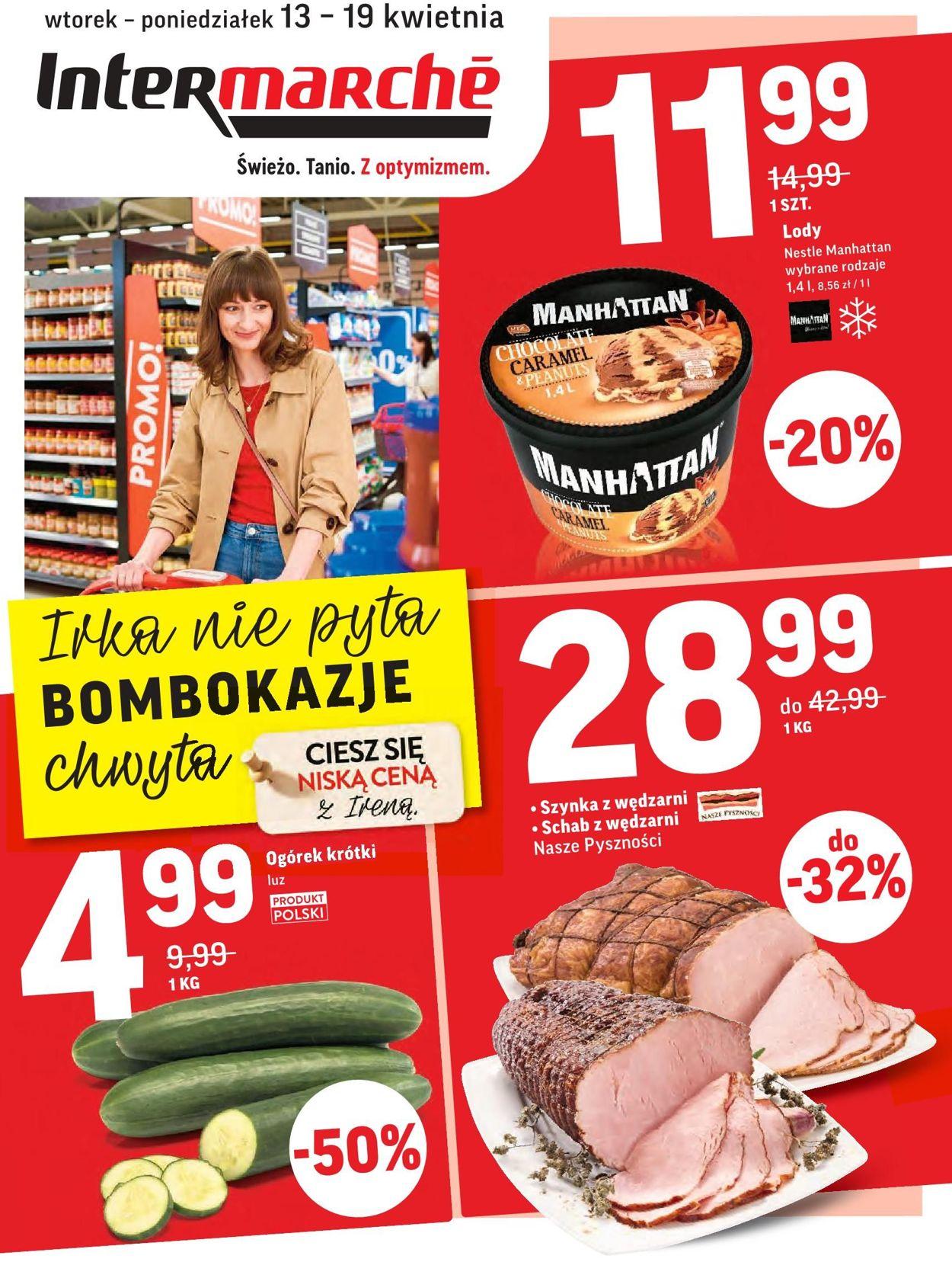 Gazetka promocyjna Intermarché - 13.04-19.04.2021