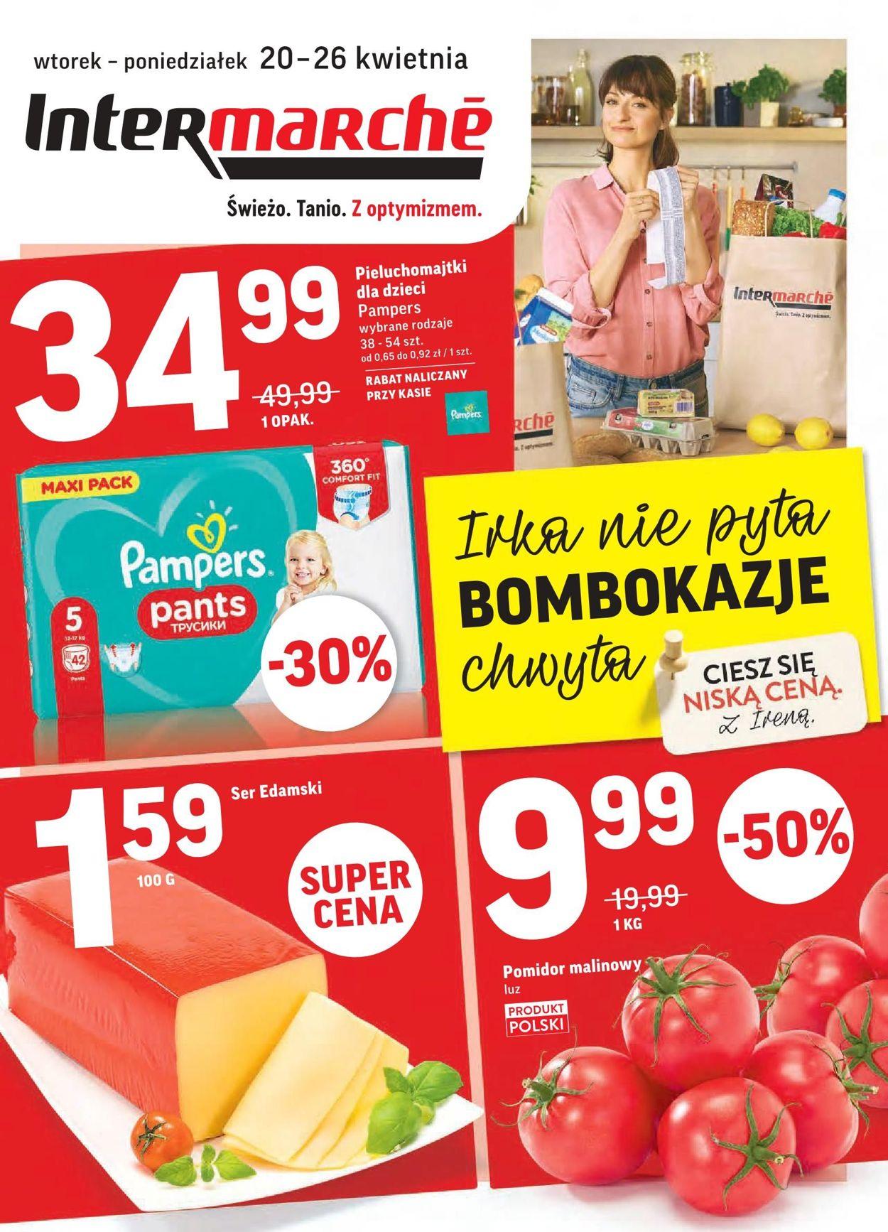 Gazetka promocyjna Intermarché - 20.04-26.04.2021
