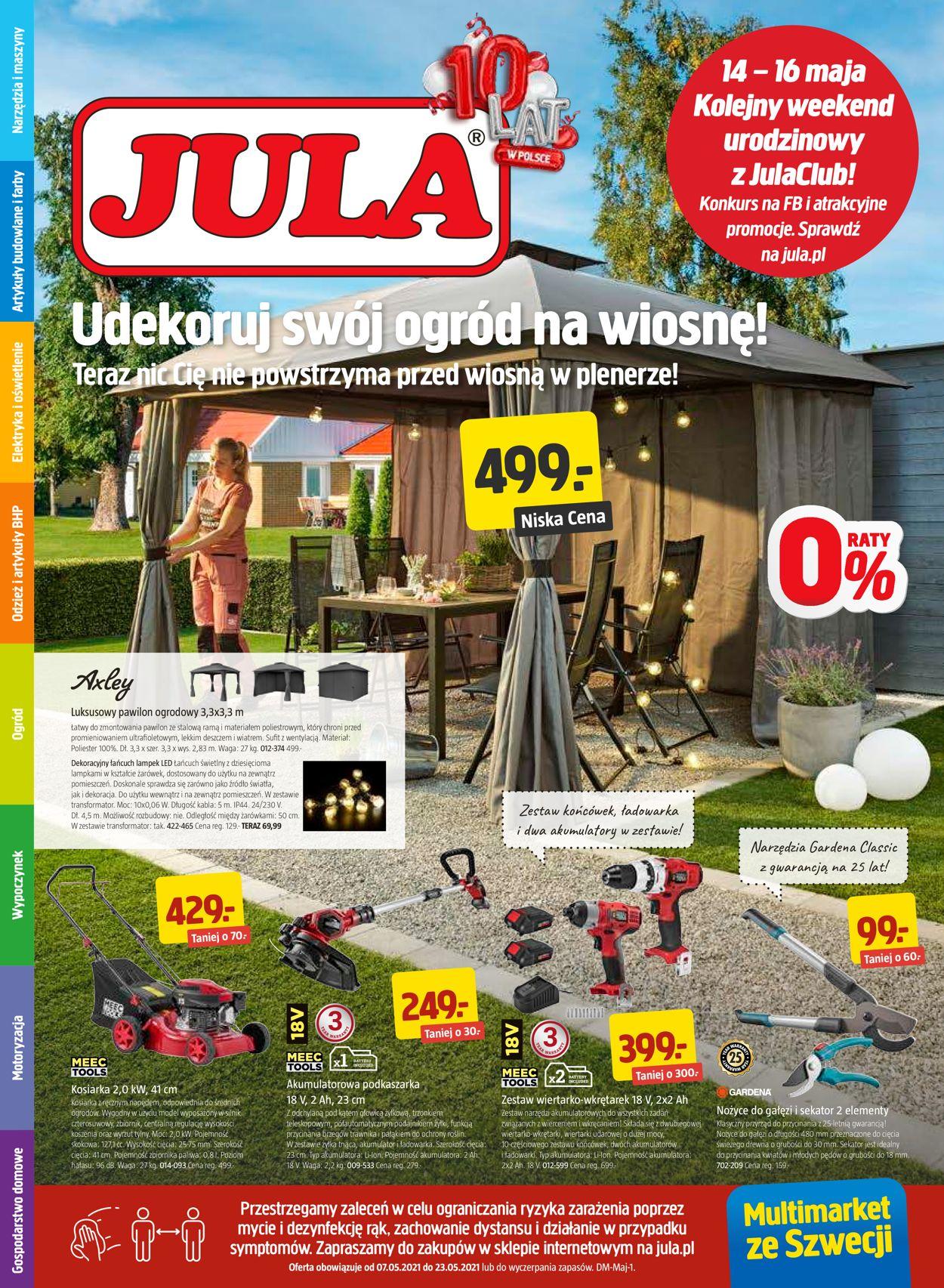 Gazetka promocyjna Jula - 07.05-23.05.2021