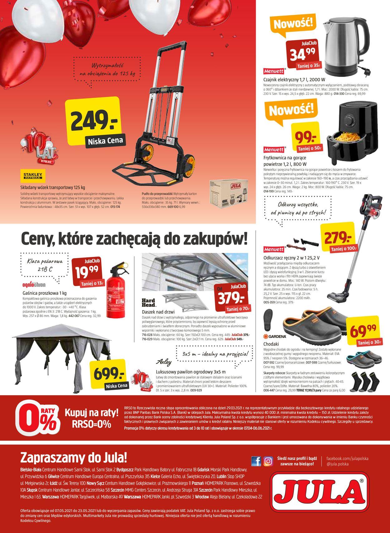Gazetka promocyjna Jula - 07.05-23.05.2021 (Strona 8)