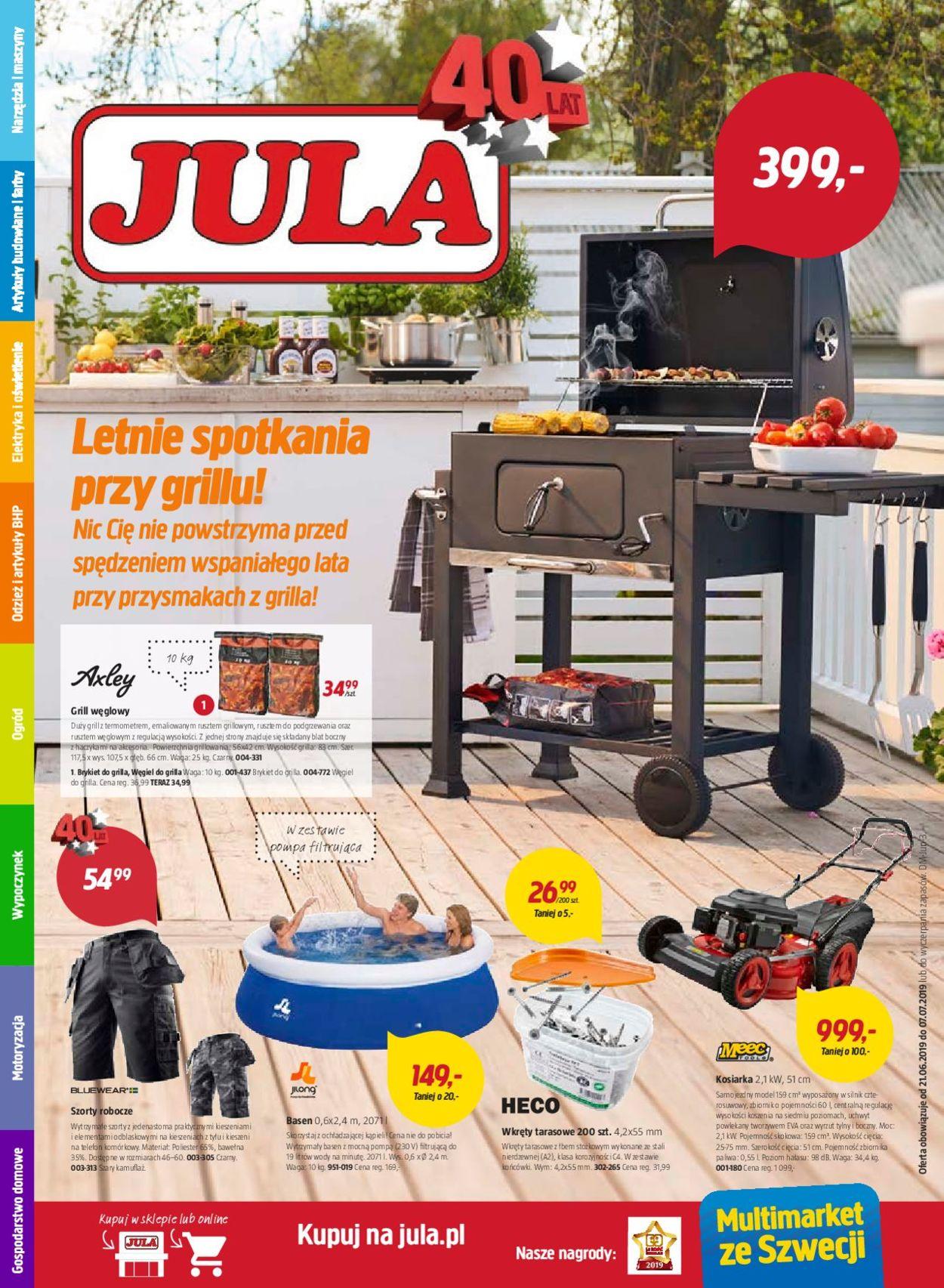 Gazetka promocyjna Jula - 21.06-07.07.2019
