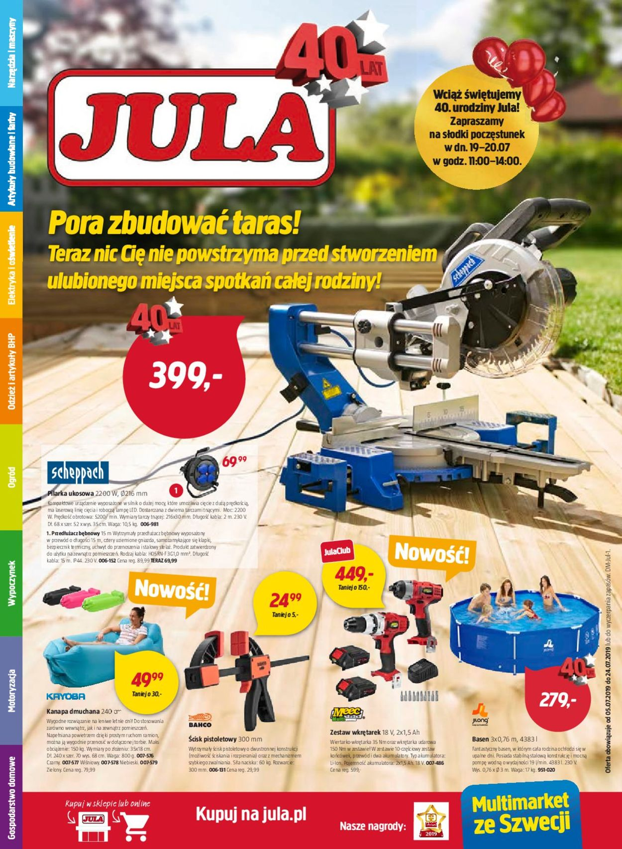 Gazetka promocyjna Jula - 05.07-24.07.2019