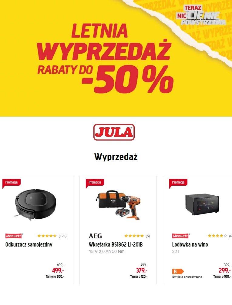 Gazetka promocyjna Jula - 17.08-23.08.2019