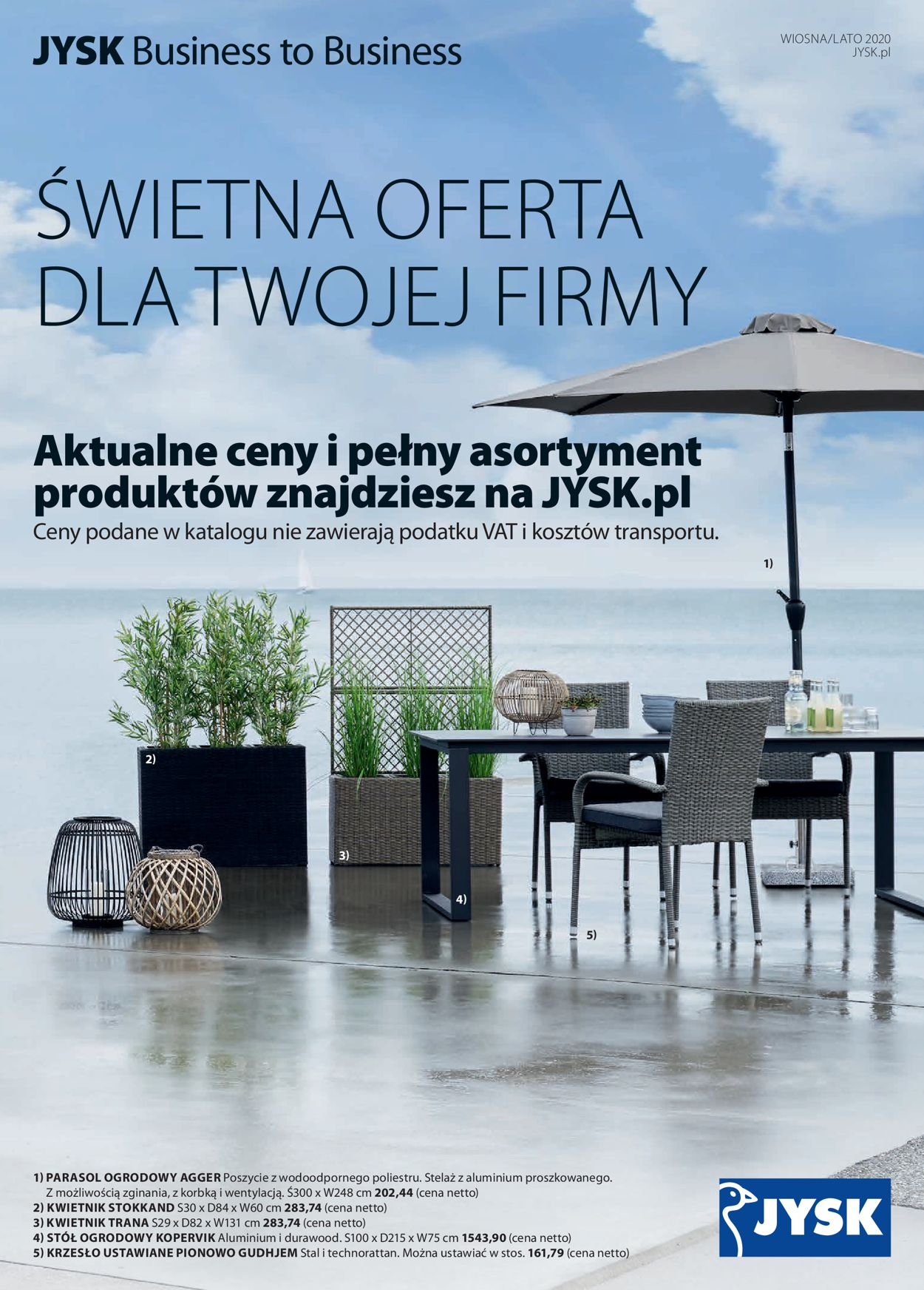 Gazetka promocyjna JYSK - 05.03-31.05.2020