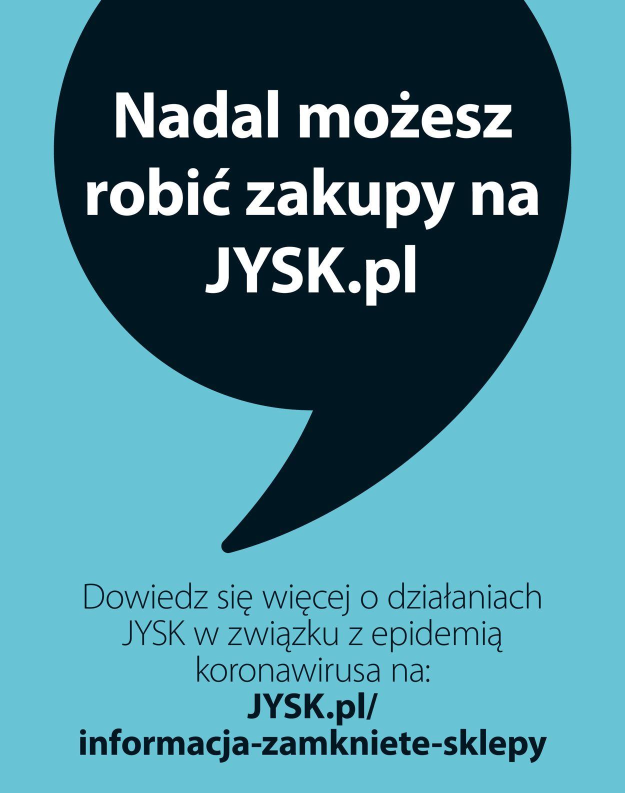 Gazetka promocyjna JYSK - 16.04-29.04.2020