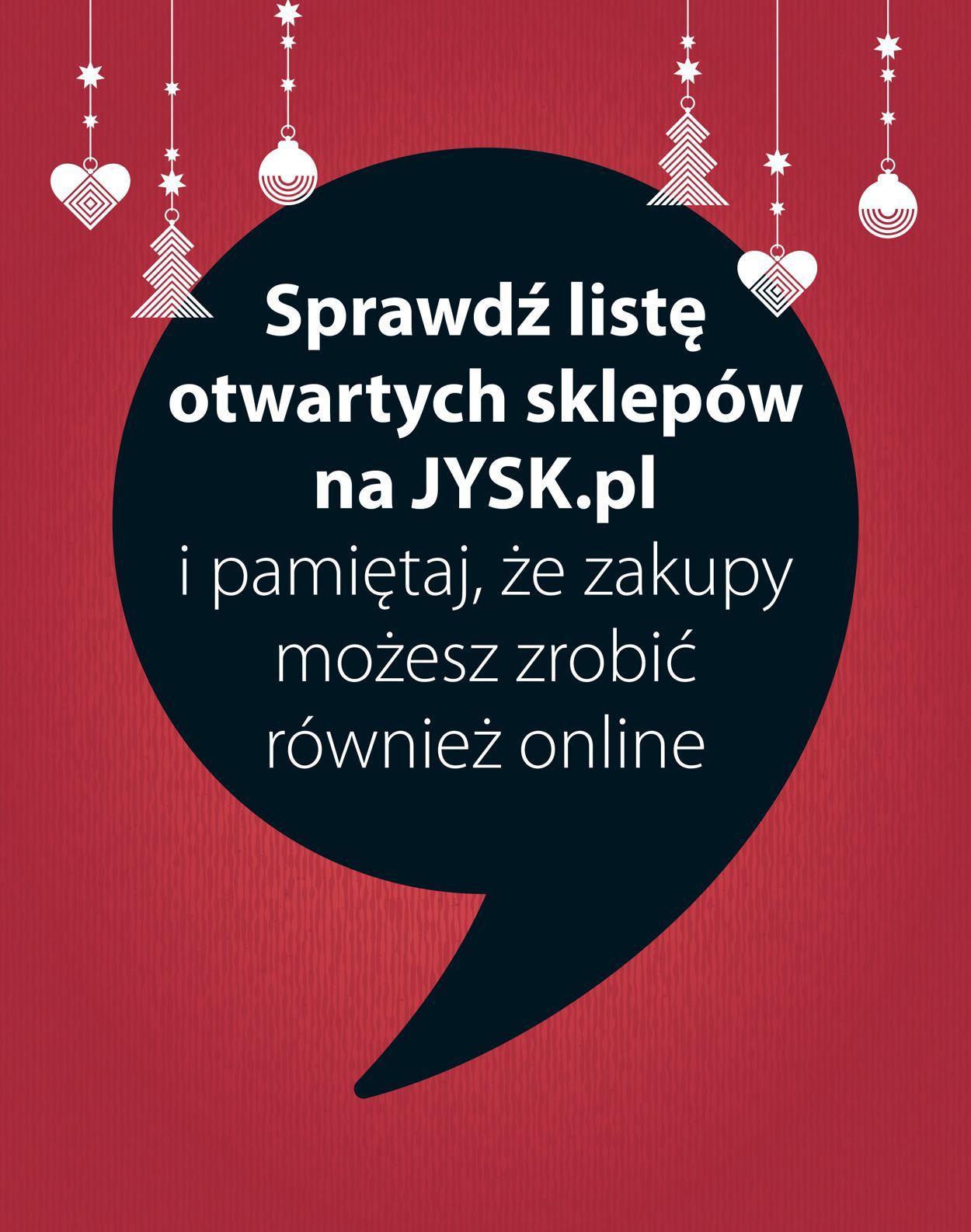 Gazetka promocyjna JYSK - Gazetka Świąteczna 2020 - 18.11-06.12.2020