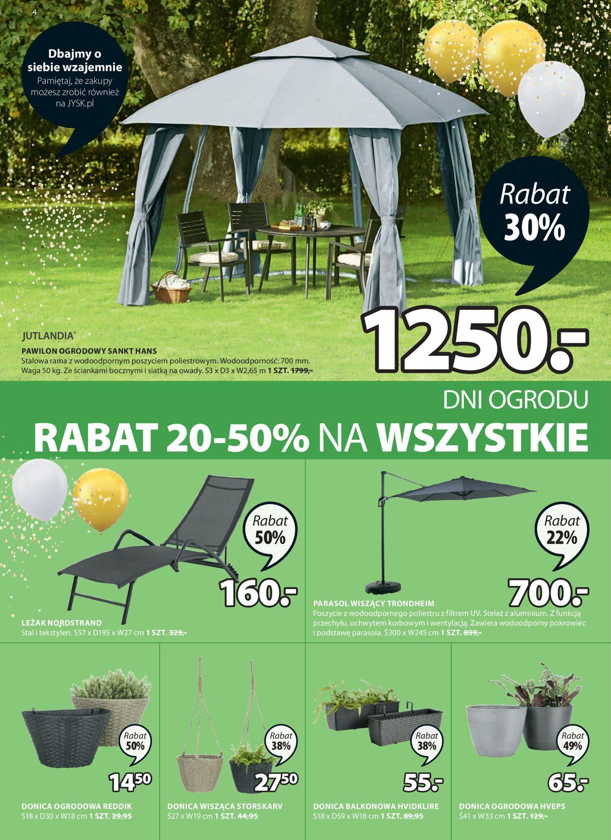 Gazetka promocyjna JYSK - 07.04-20.04.2021 (Strona 4)