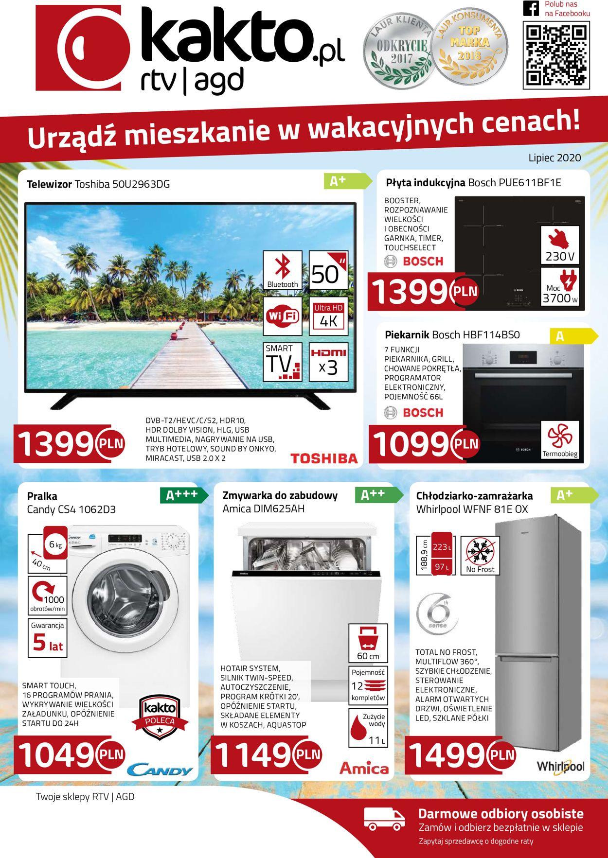Gazetka promocyjna Kakto - 01.07-31.07.2020