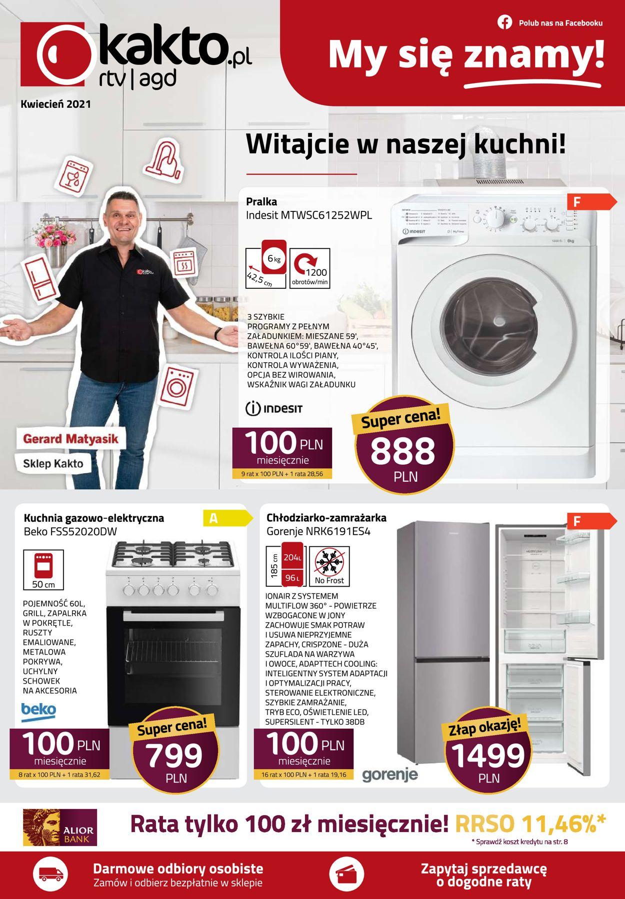 Gazetka promocyjna Kakto - 09.04-30.04.2021