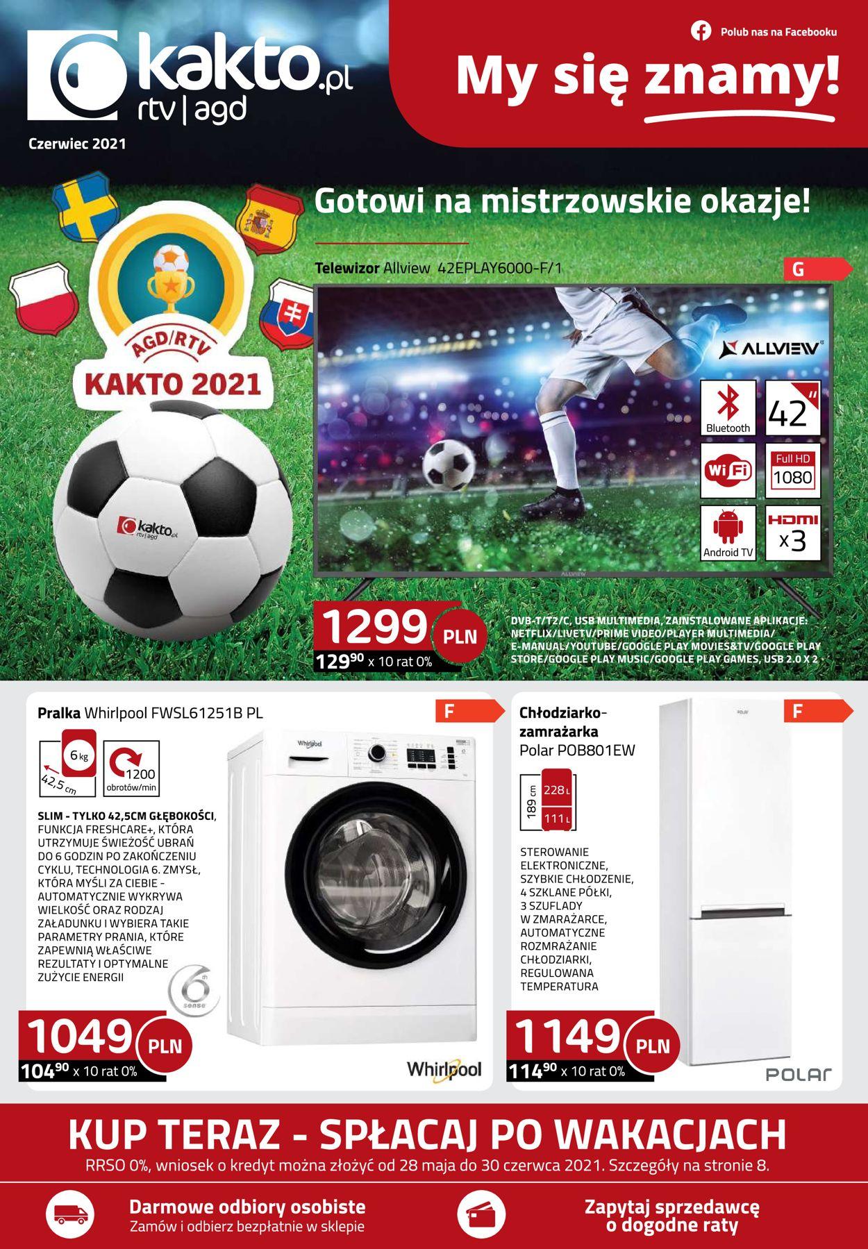 Gazetka promocyjna Kakto - 28.05-30.06.2021