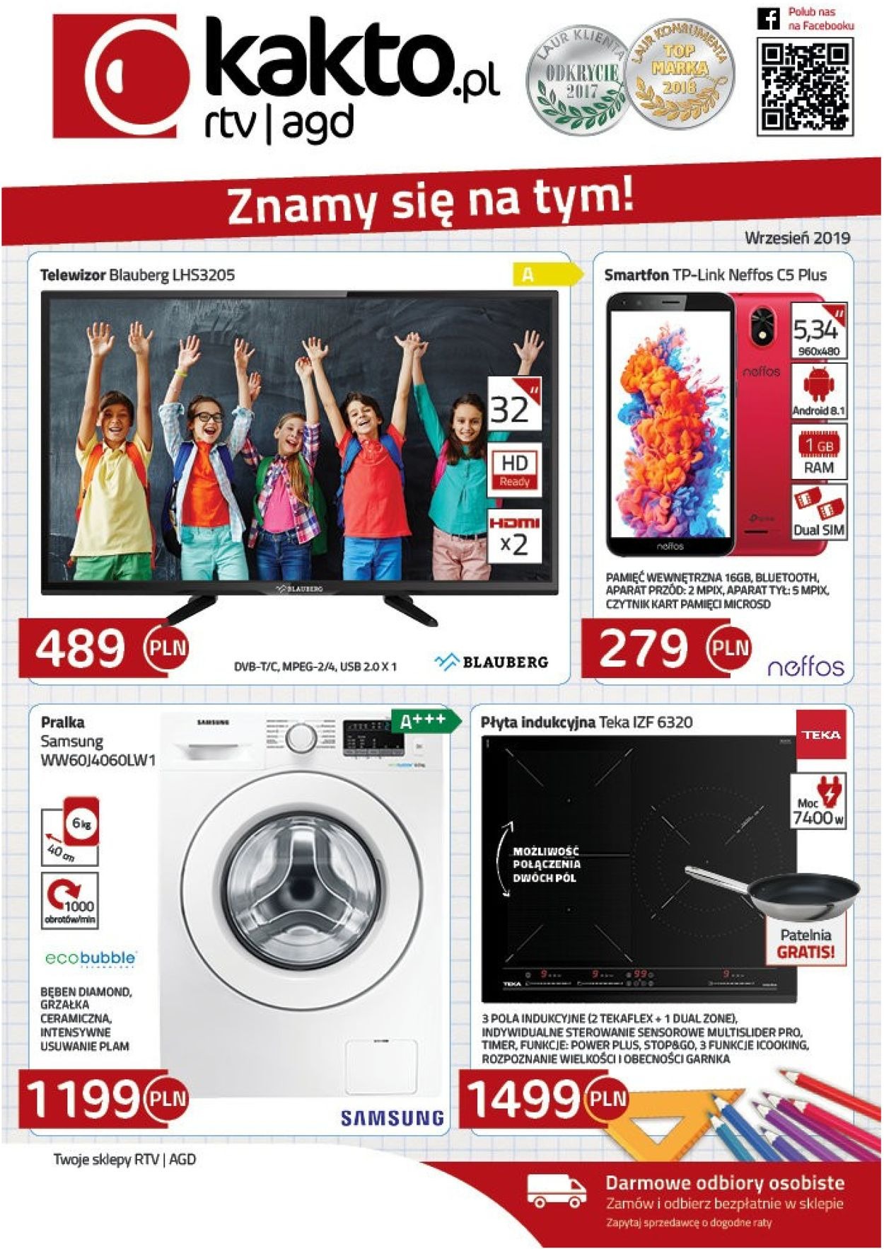 Gazetka promocyjna Kakto - 02.09-30.09.2019