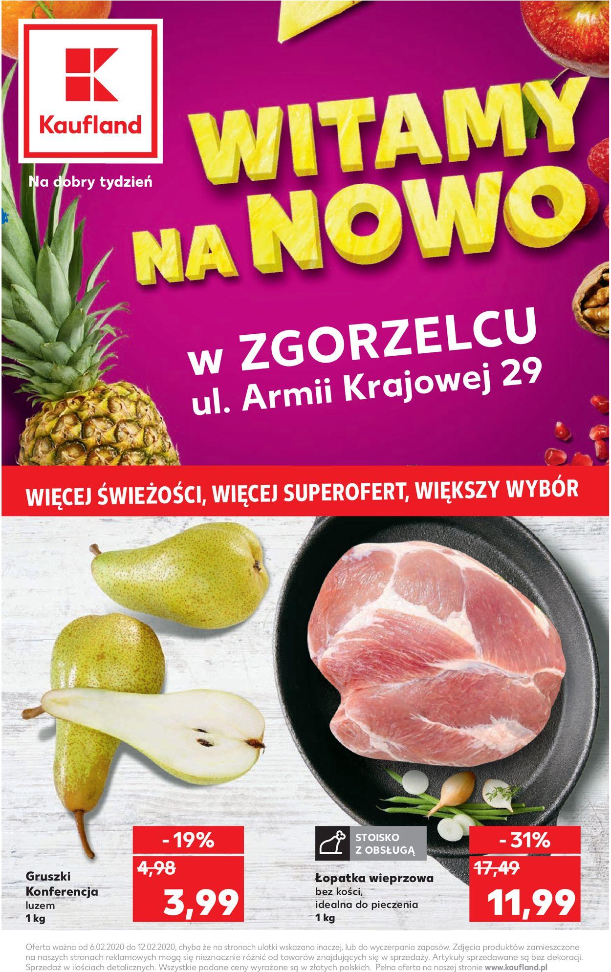 Gazetka promocyjna Kaufland - 06.02-12.02.2020