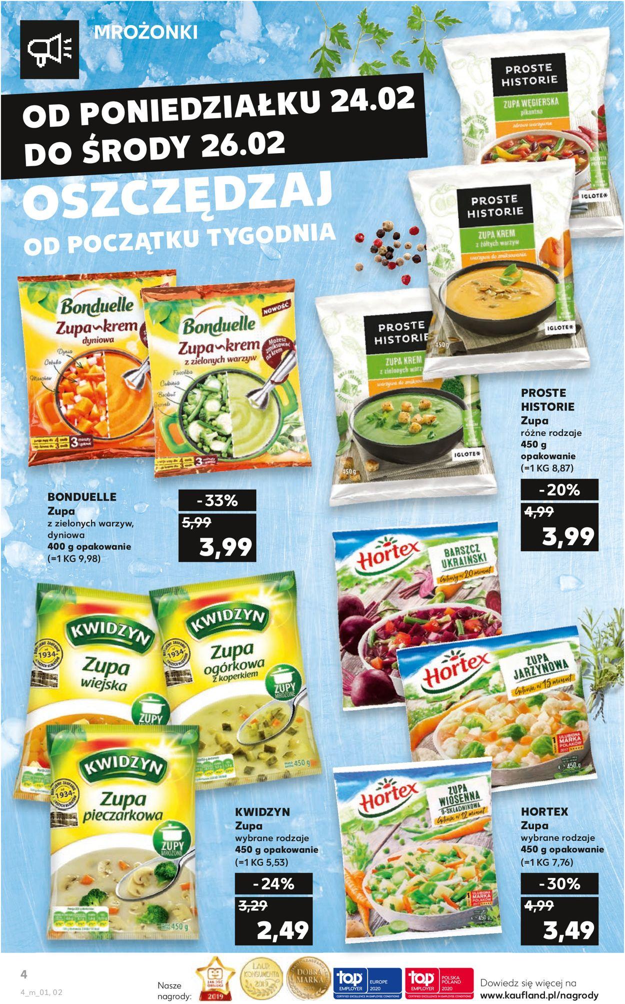 Gazetka promocyjna Kaufland - 24.02-26.02.2020 (Strona 4)