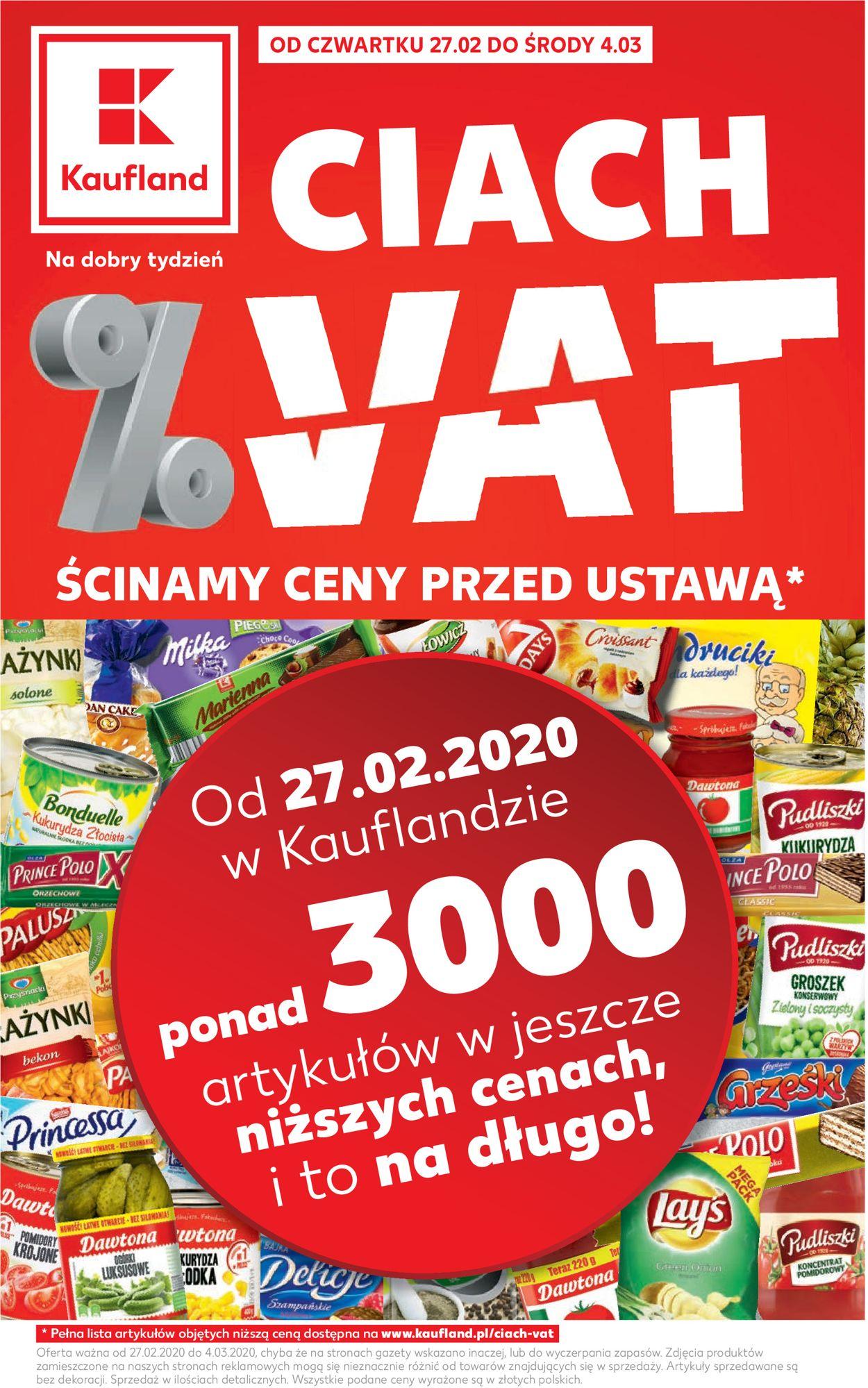 Gazetka promocyjna Kaufland - 27.02-04.03.2020