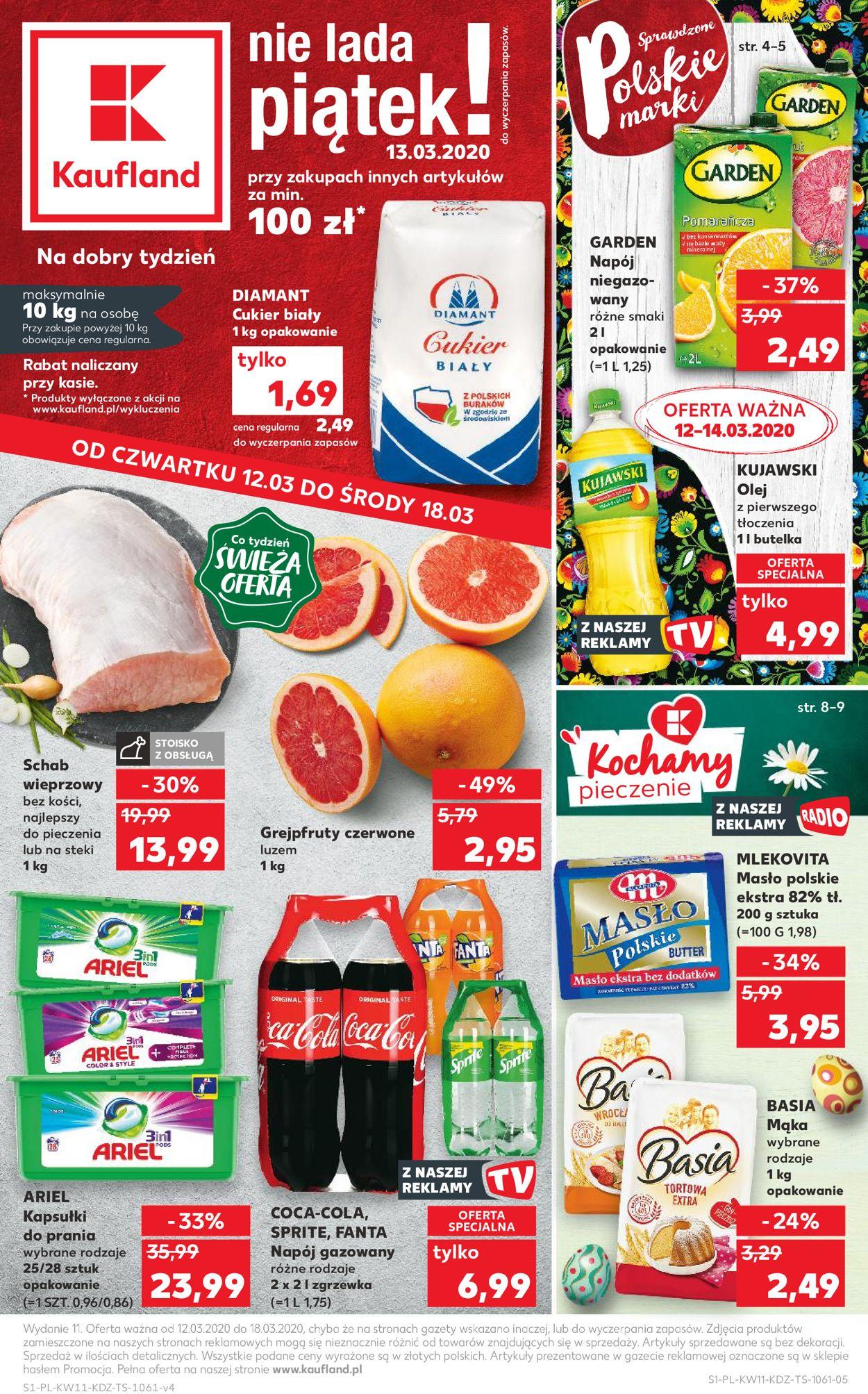 Gazetka promocyjna Kaufland - 12.03-18.03.2020