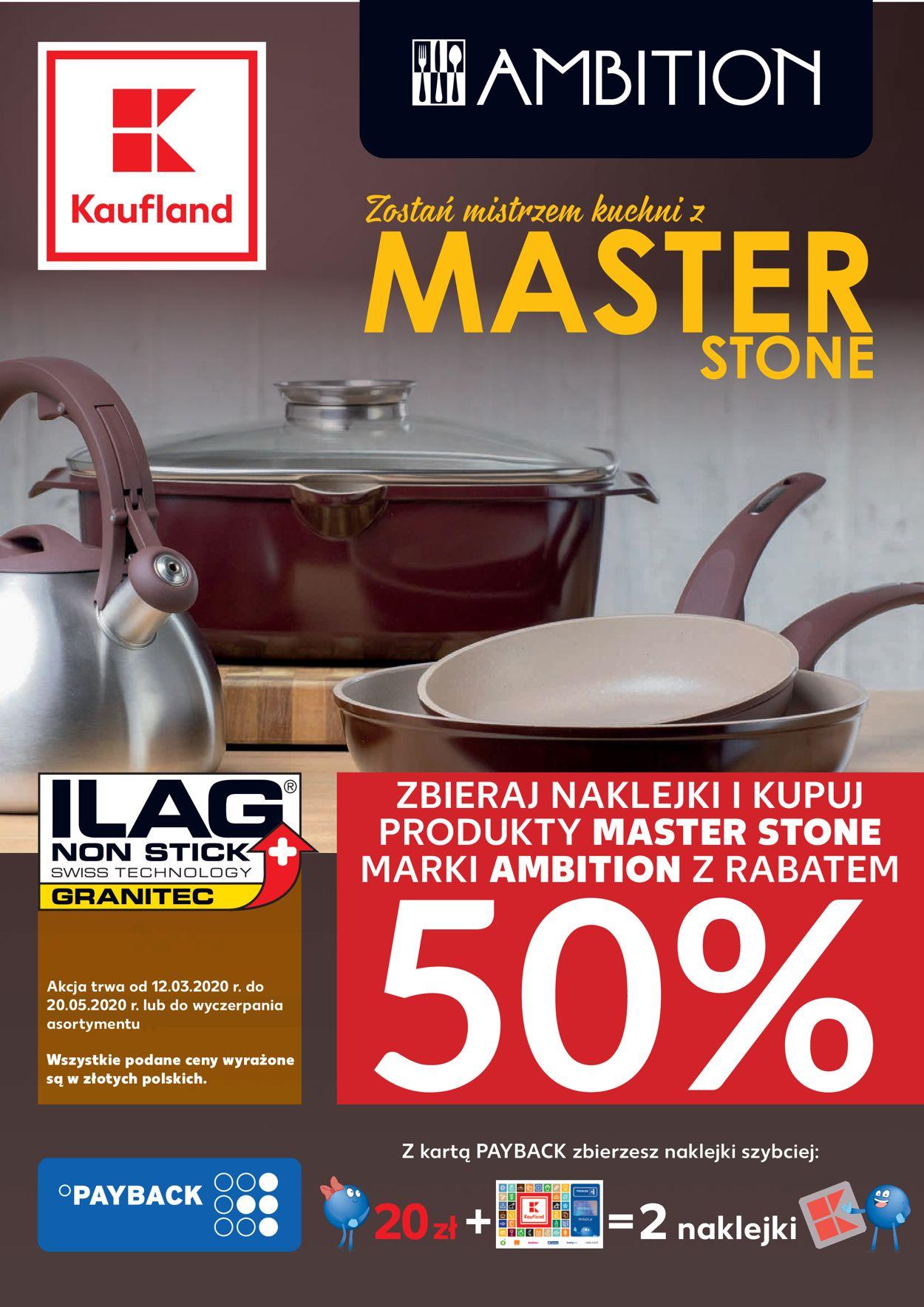 Gazetka promocyjna Kaufland - 12.03-20.05.2020