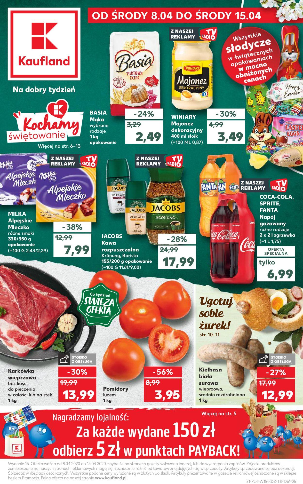 Gazetka promocyjna Kaufland - 08.04-15.04.2020
