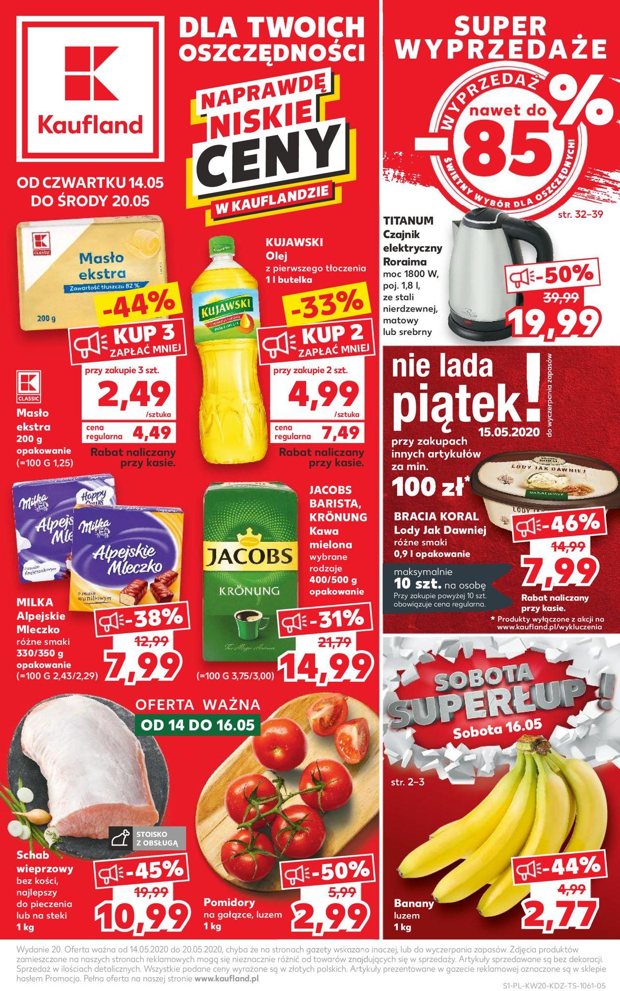 Gazetka promocyjna Kaufland - 14.05-20.05.2020
