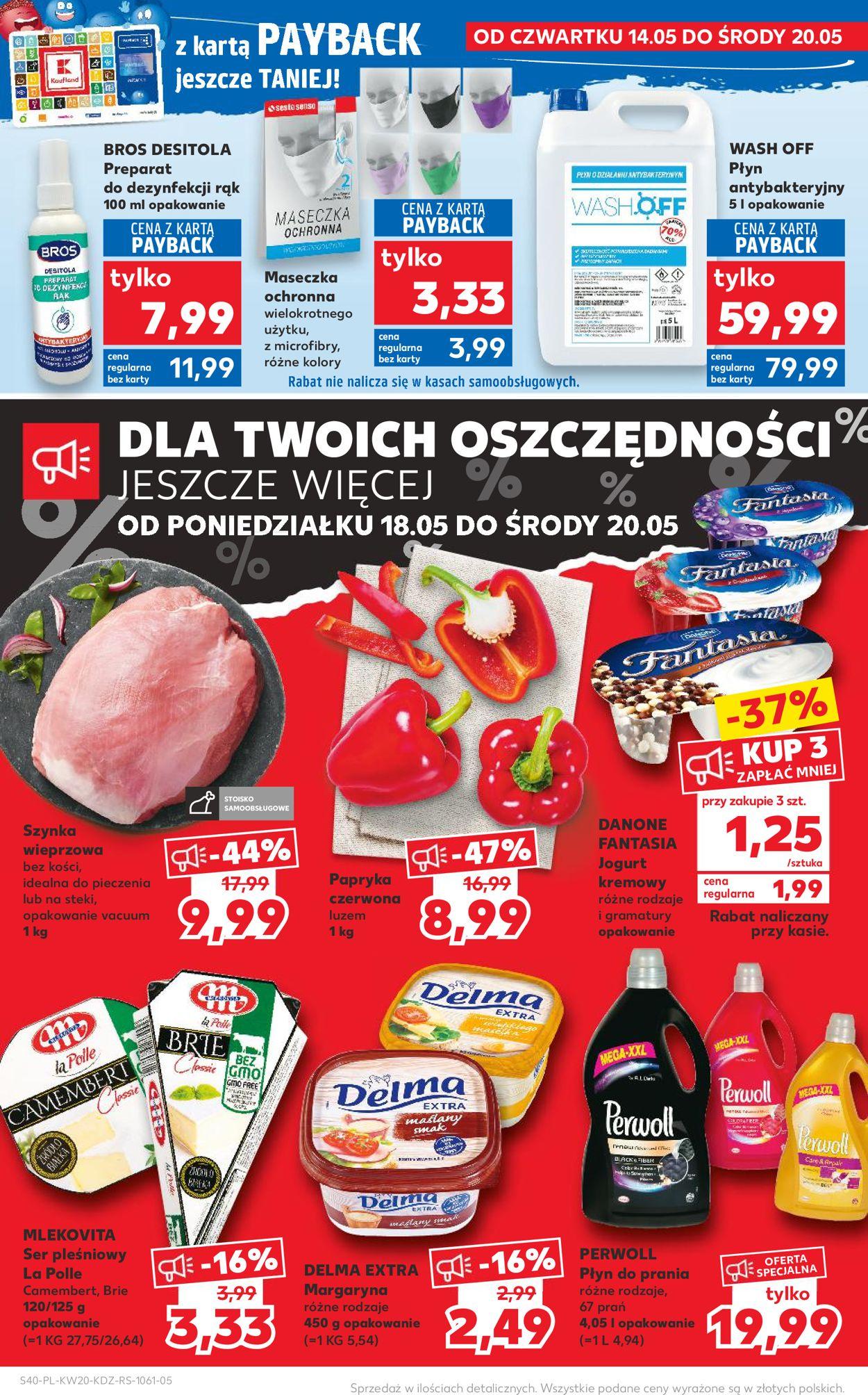 Gazetka promocyjna Kaufland - 14.05-20.05.2020 (Strona 40)