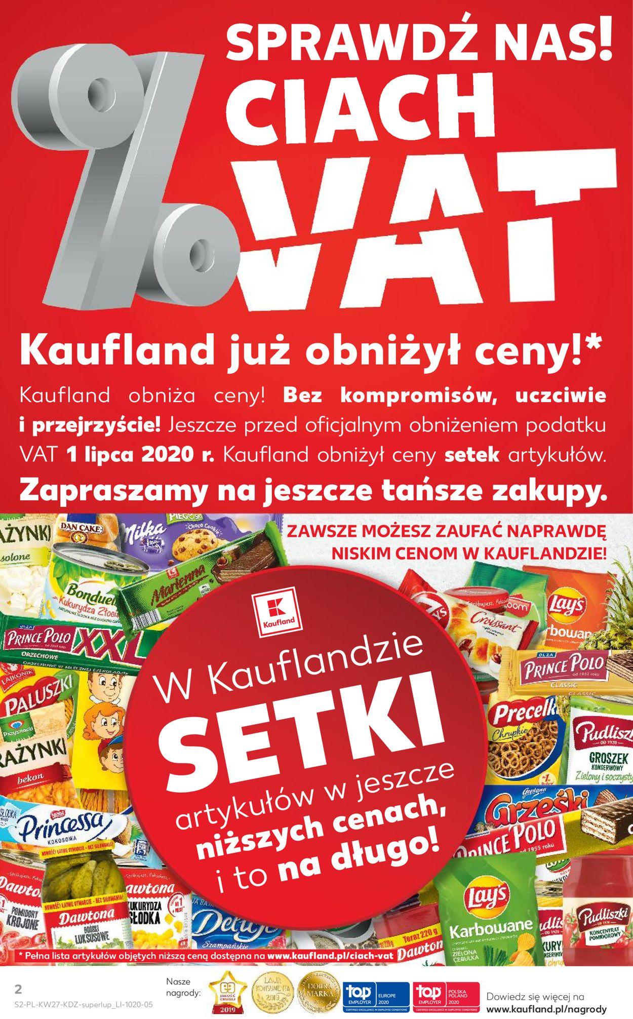 Gazetka promocyjna Kaufland - 02.07-08.07.2020 (Strona 2)