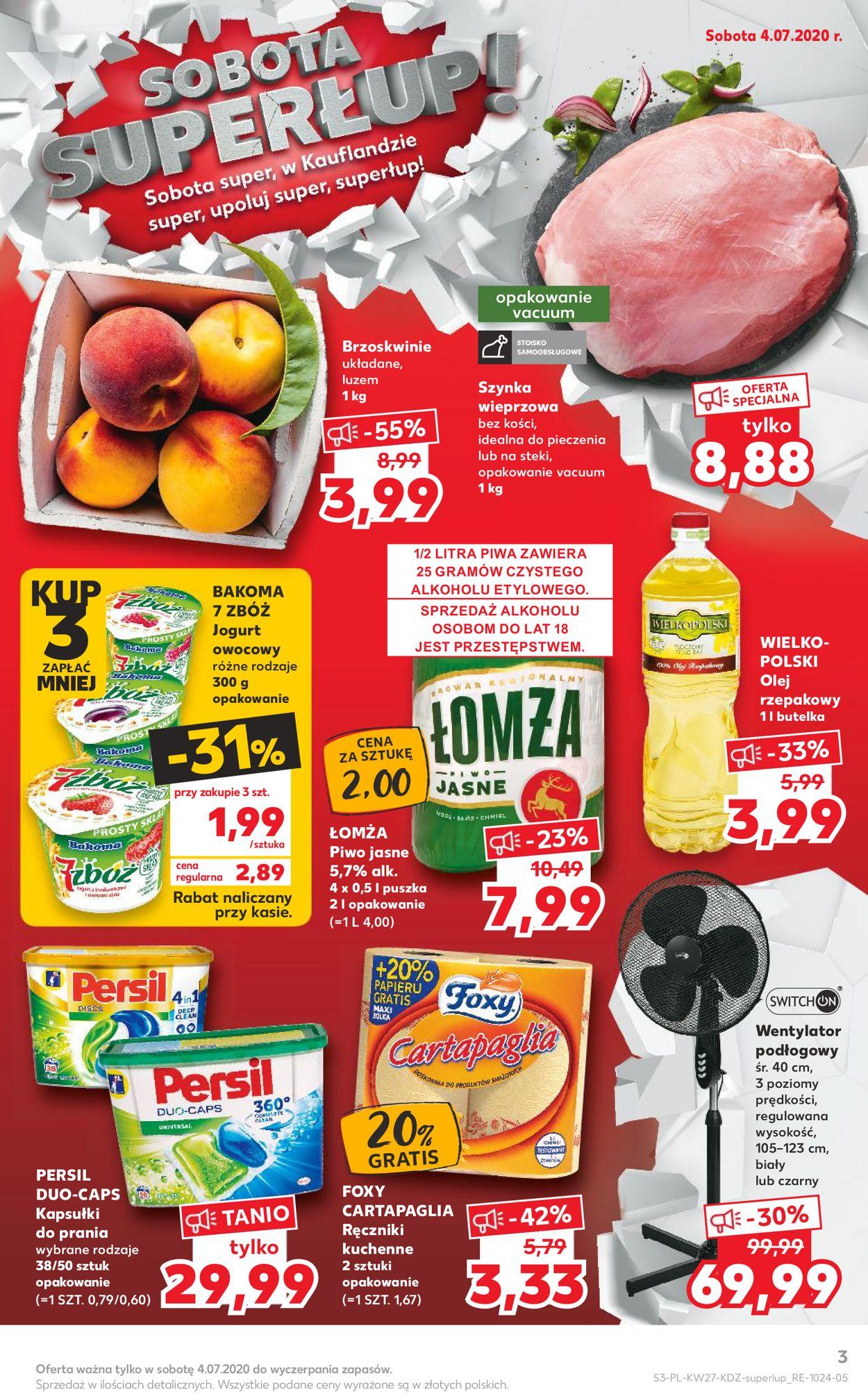 Gazetka promocyjna Kaufland - 02.07-08.07.2020 (Strona 3)
