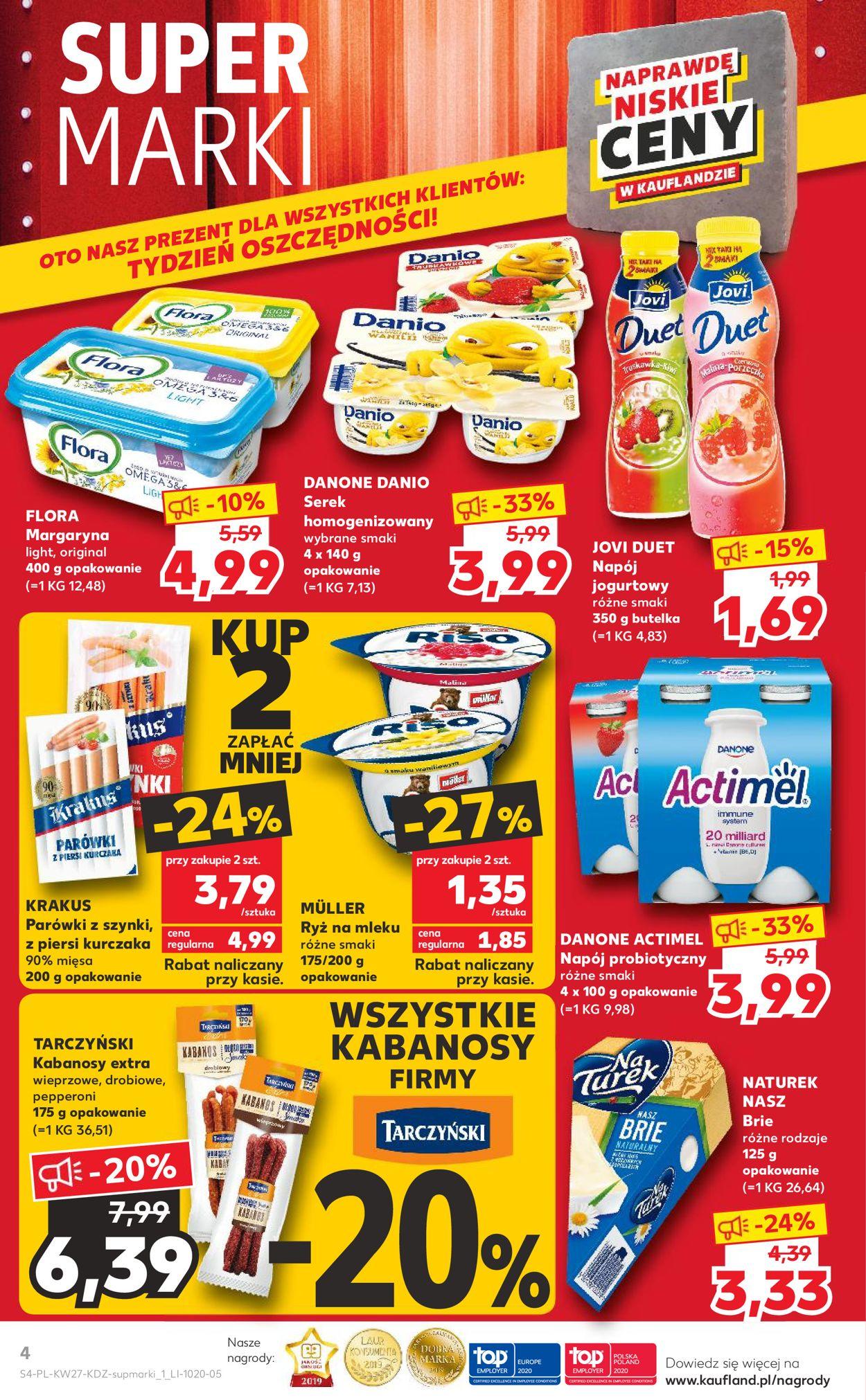 Gazetka promocyjna Kaufland - 02.07-08.07.2020 (Strona 4)
