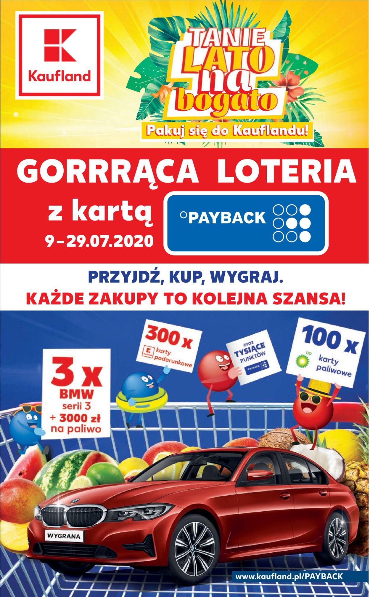 Gazetka promocyjna Kaufland - 09.07-15.07.2020