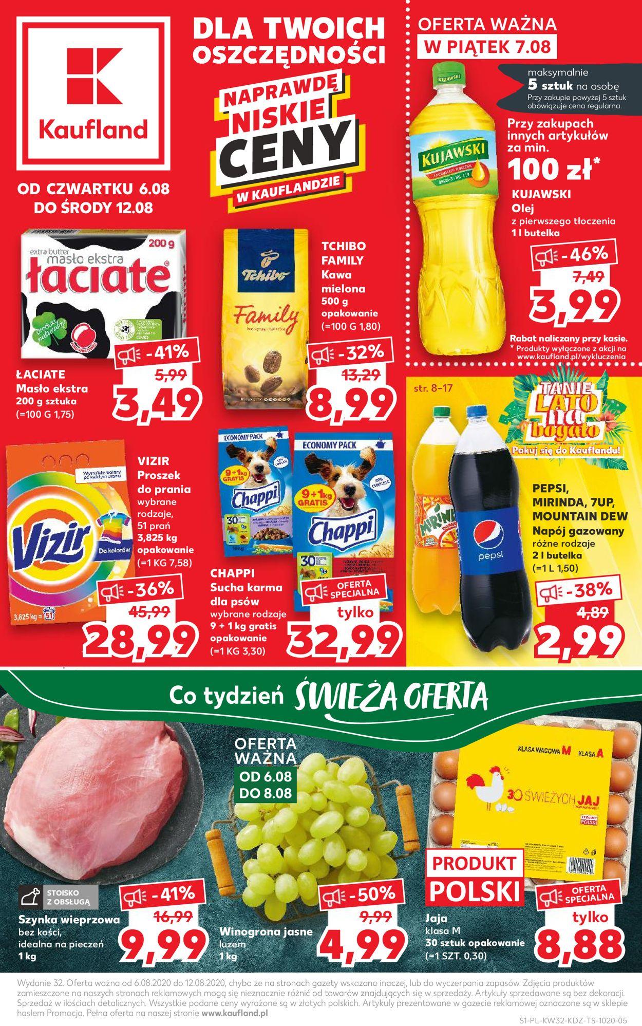 Gazetka promocyjna Kaufland - 06.08-12.08.2020