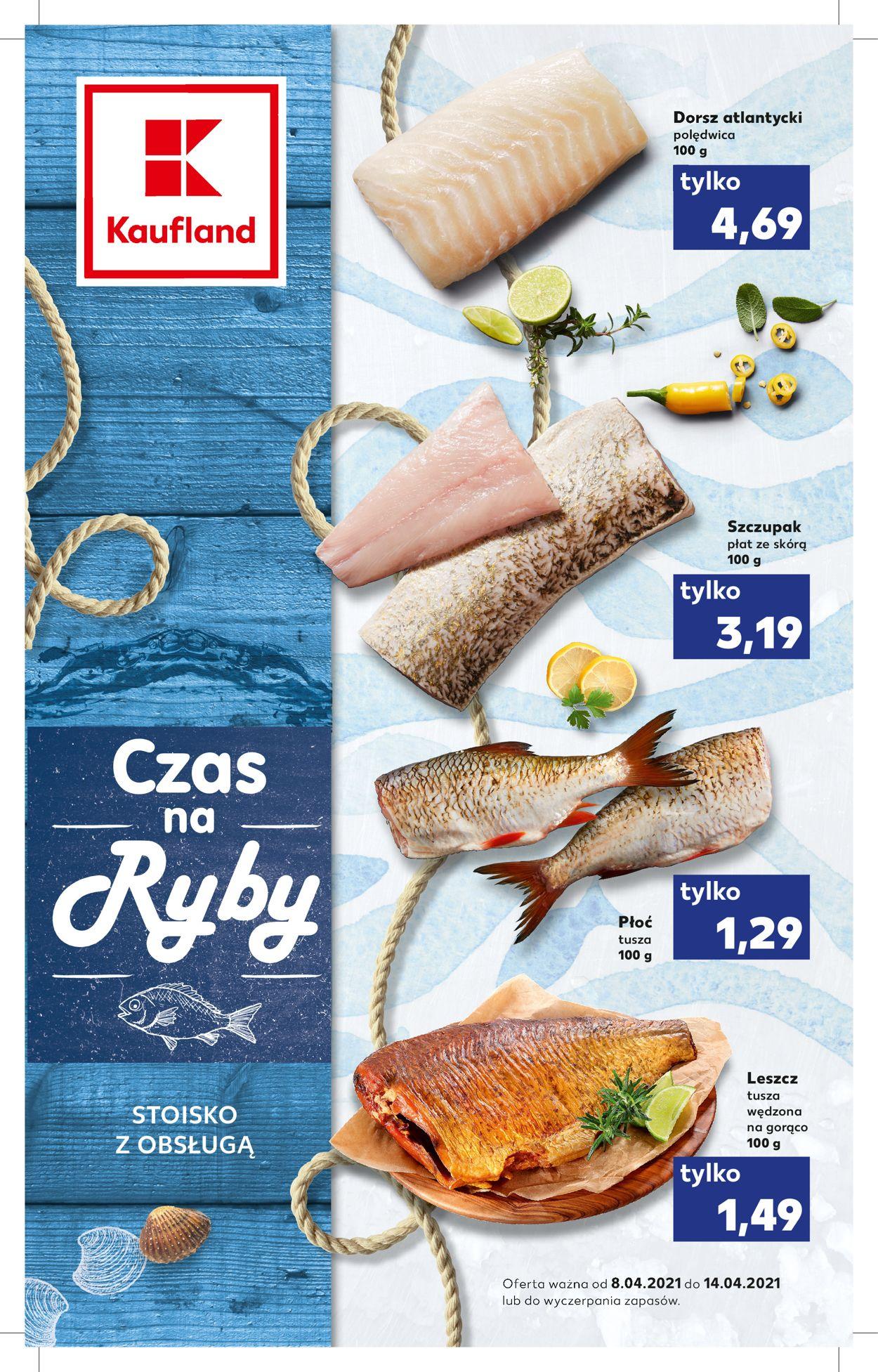 Gazetka promocyjna Kaufland - 08.04-14.04.2021