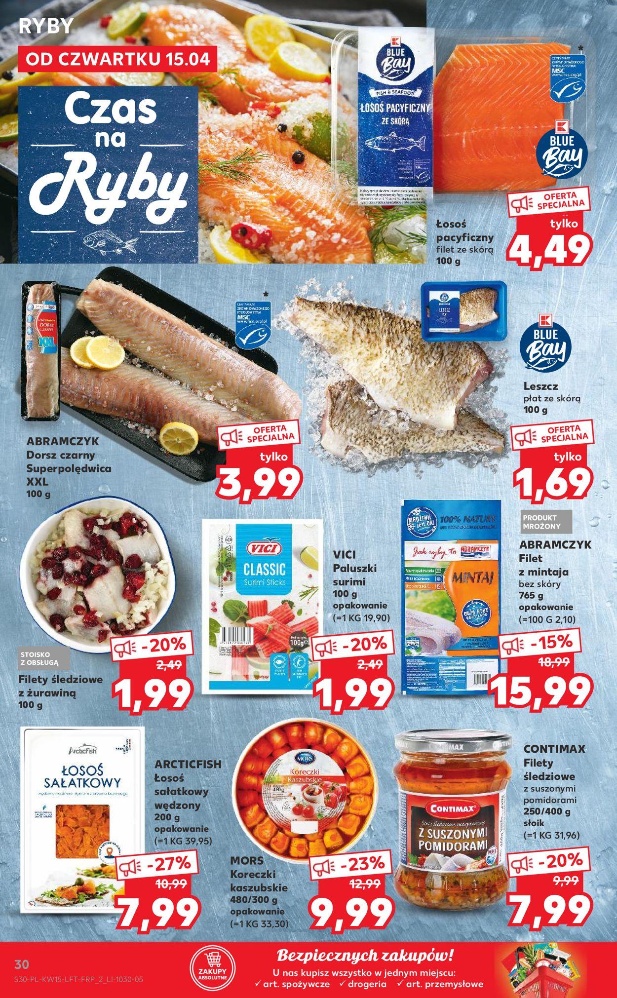 Gazetka promocyjna Kaufland - 15.04-21.04.2021 (Strona 30)