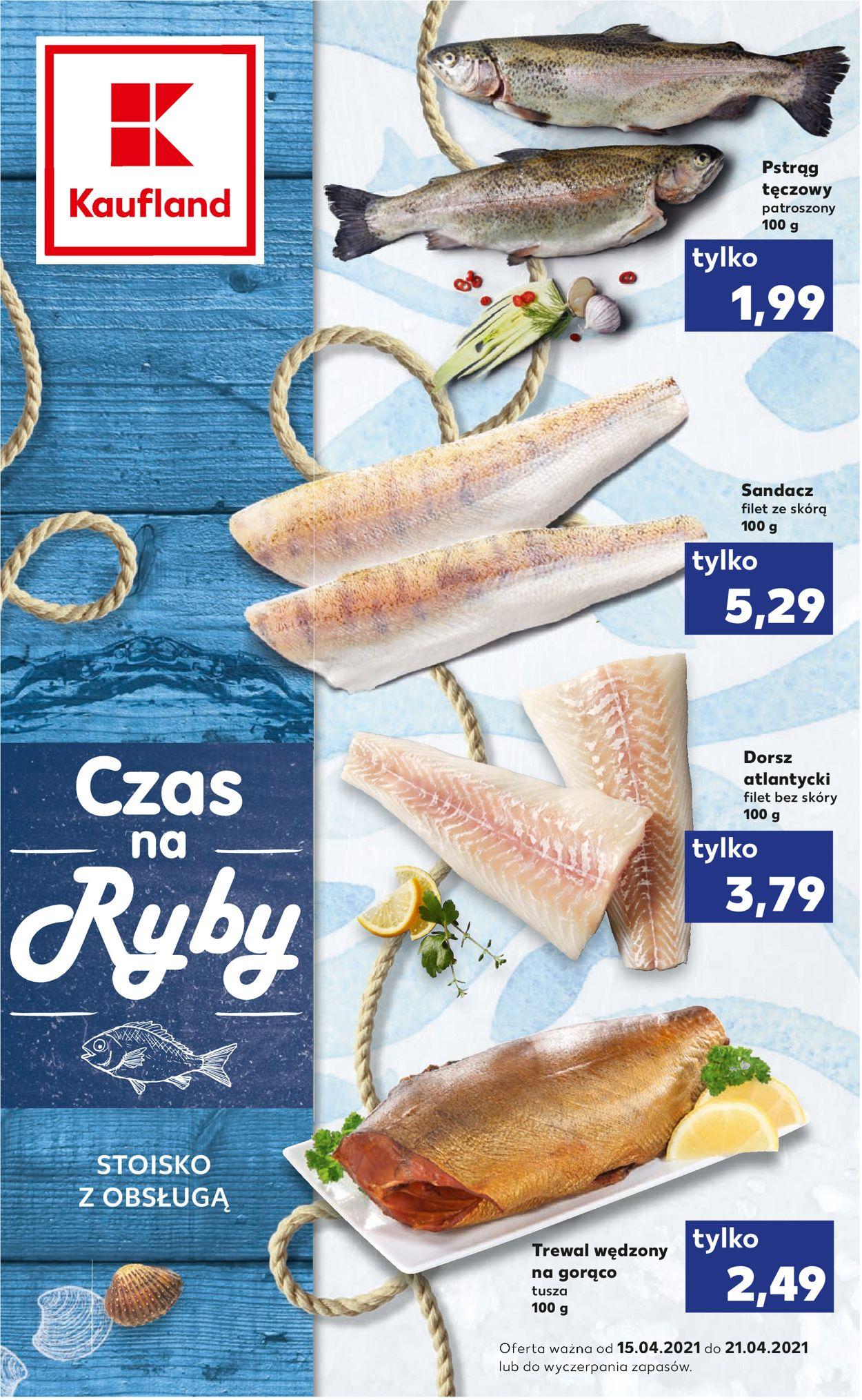 Gazetka promocyjna Kaufland - 15.04-21.04.2021
