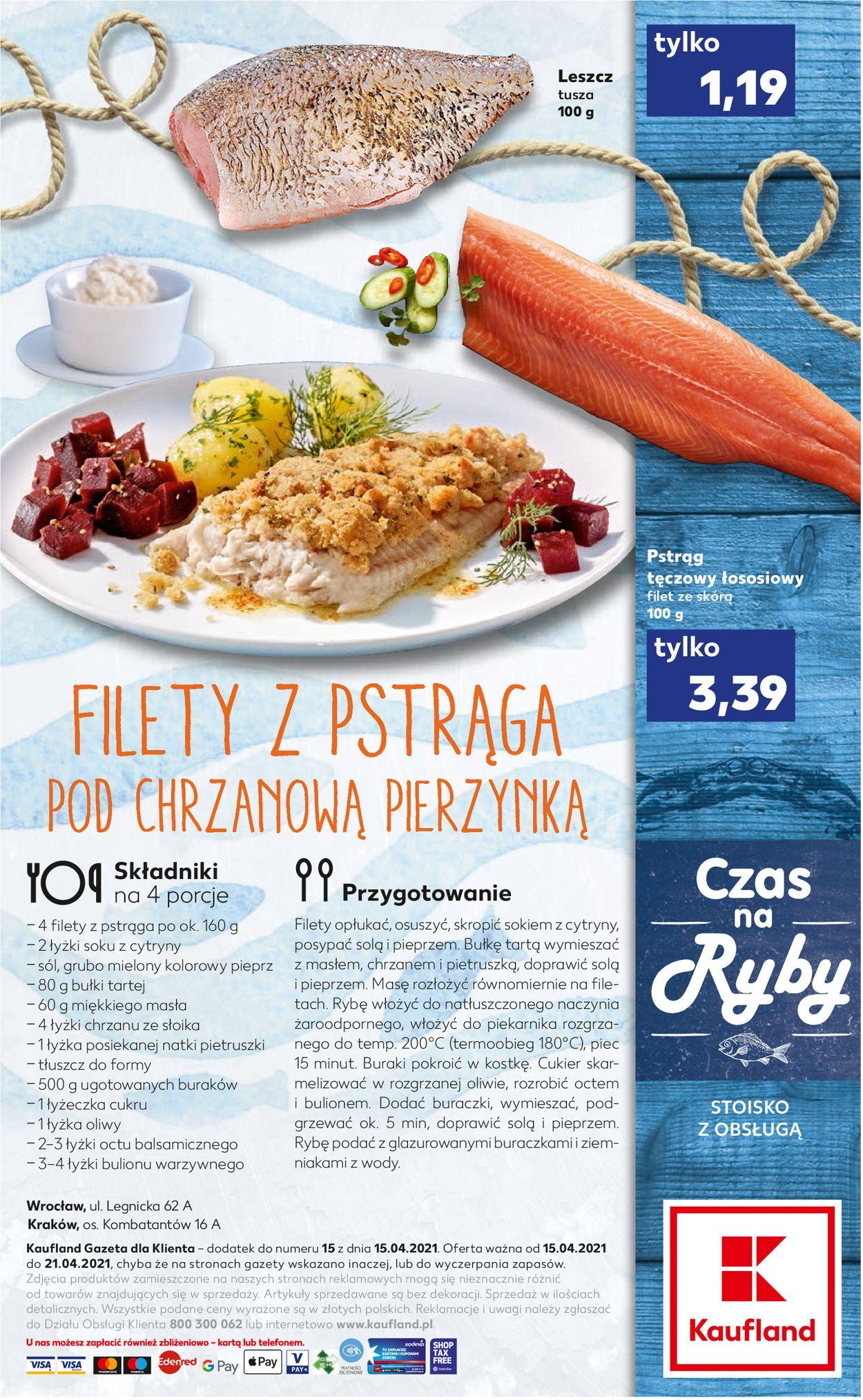 Gazetka promocyjna Kaufland - 15.04-21.04.2021 (Strona 2)