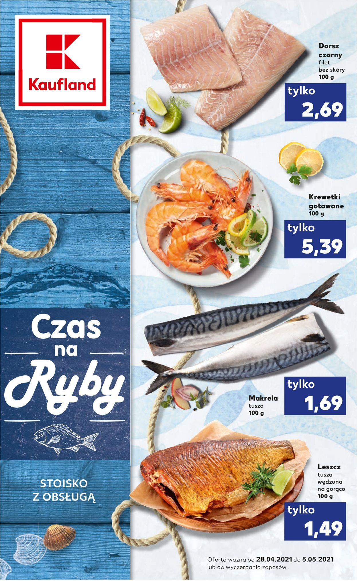 Gazetka promocyjna Kaufland - 28.04-05.05.2021